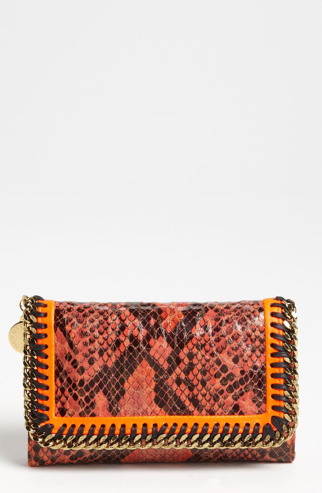 Alternate Image 1 Selected - Stella McCartney 'Falabella' Faux Python Wallet
