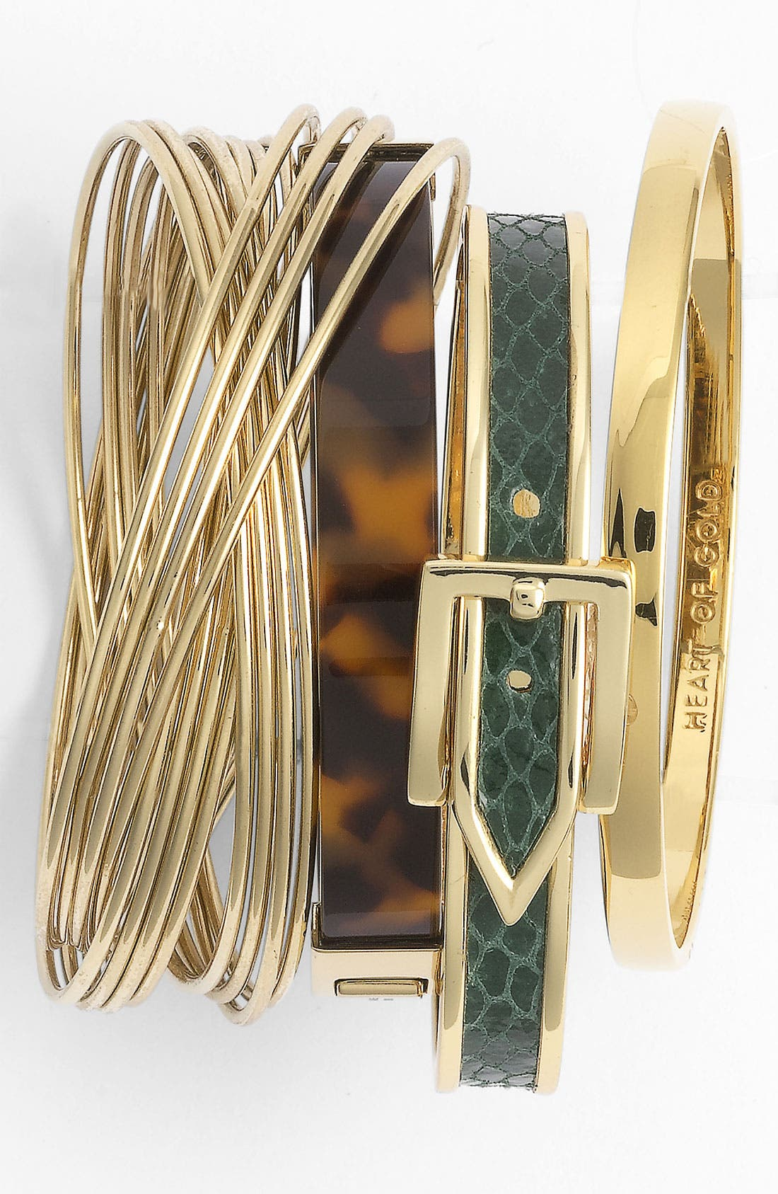 Alternate Image 3  - Michael Kors Hinged Bangle