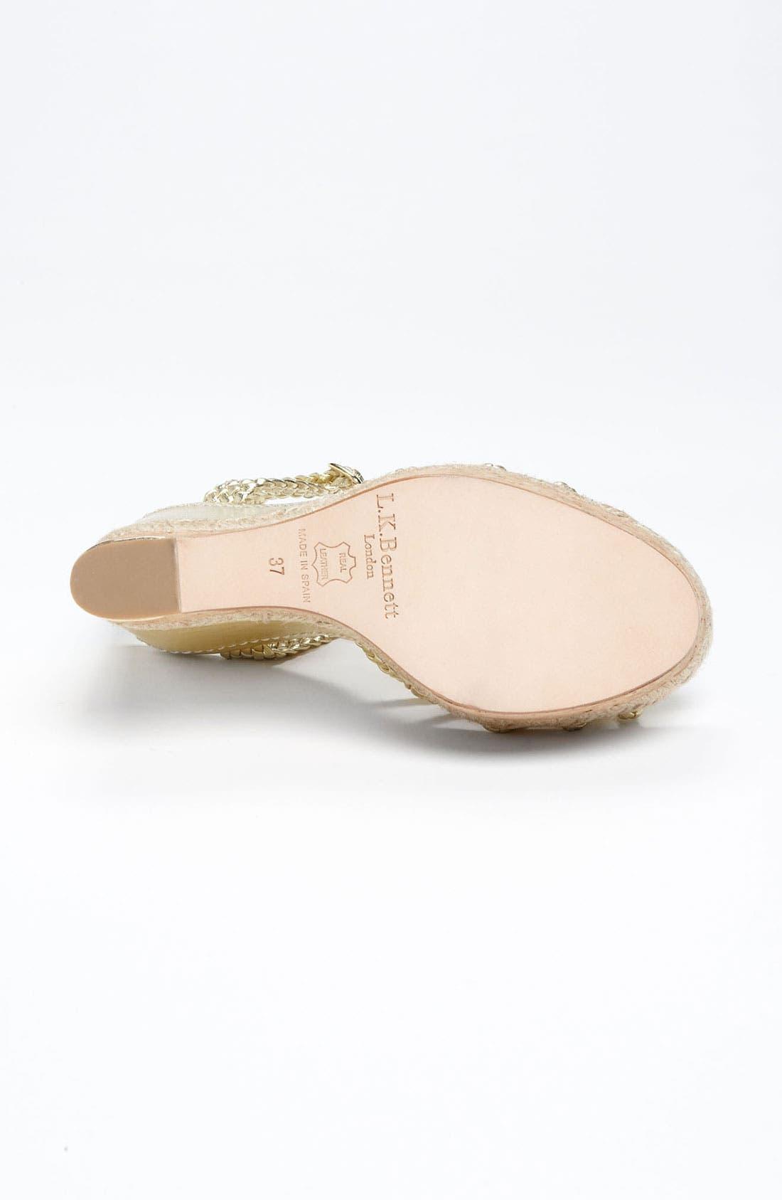 Alternate Image 4  - L.K. Bennett 'Aqunia' Sandal