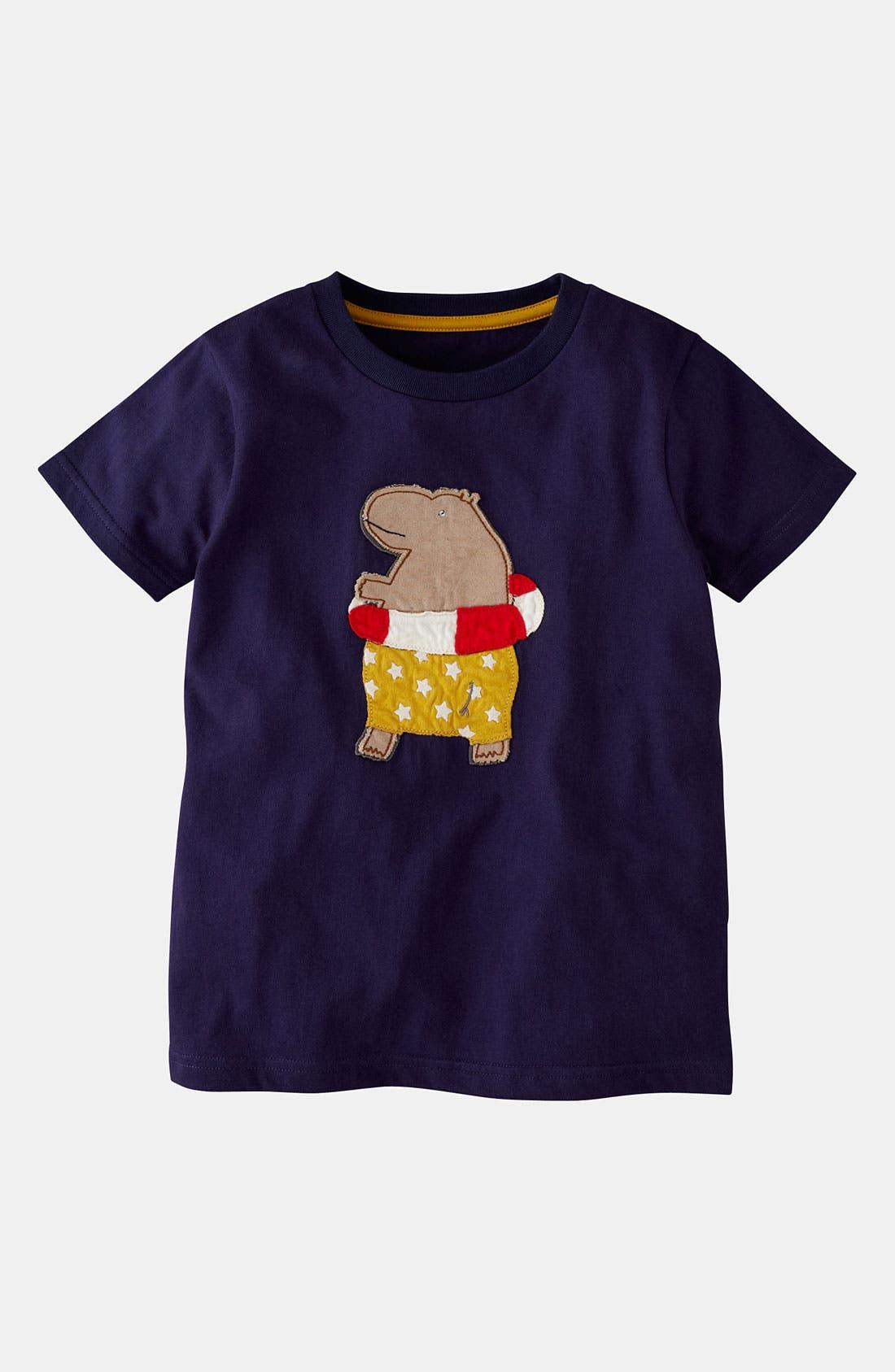 Alternate Image 1 Selected - Mini Boden 'Rock' T-Shirt (Big Boys)