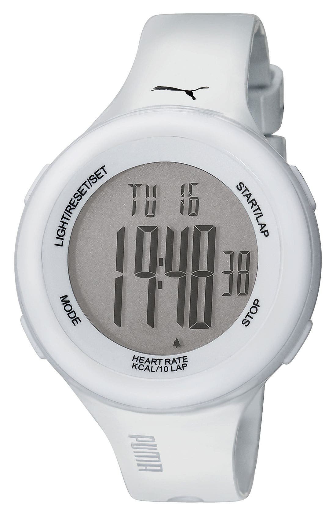 Alternate Image 1 Selected - PUMA 'Fit' Heart Rate Monitor Watch, 38mm