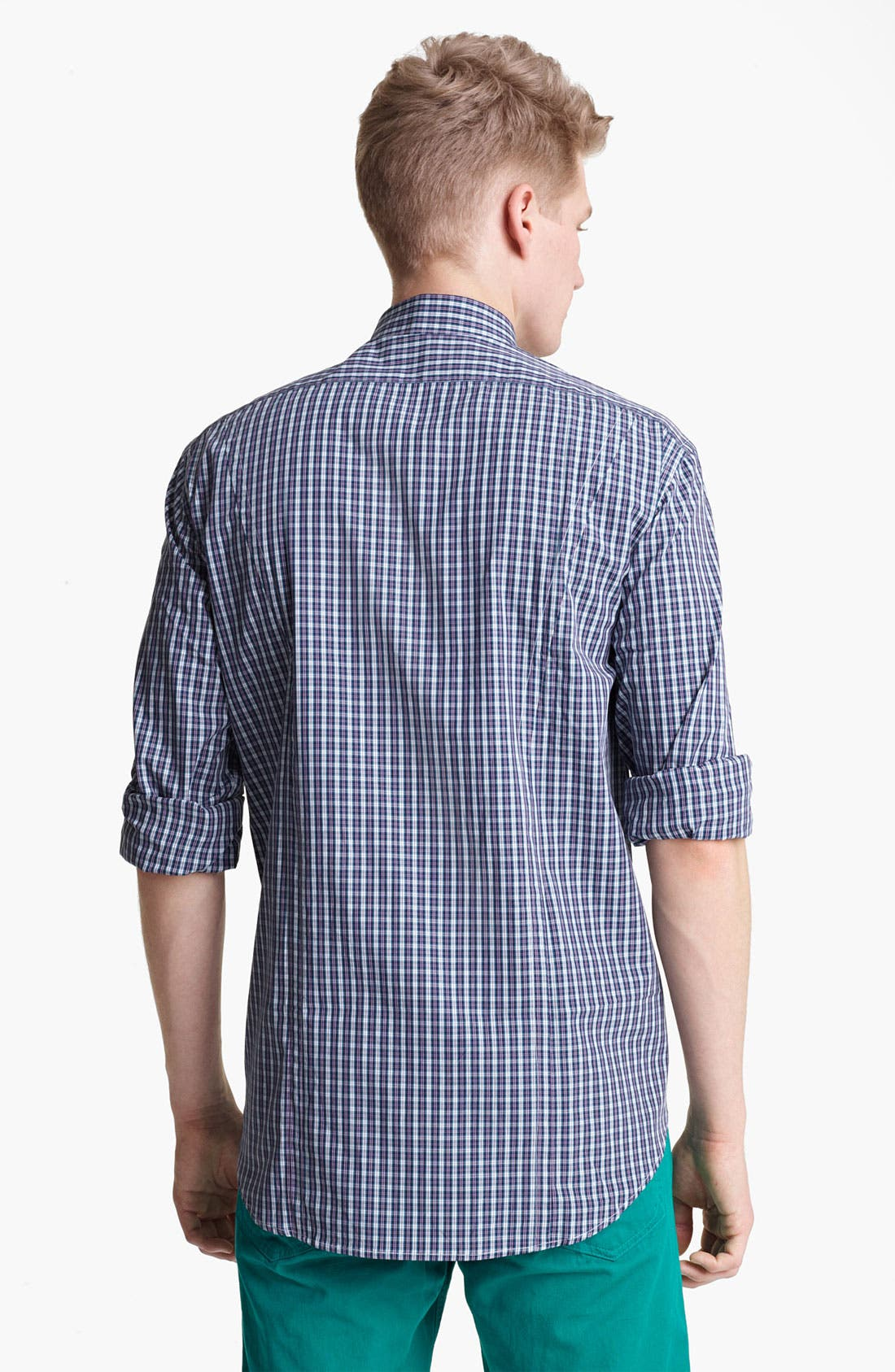 Alternate Image 2  - rag & bone 'Charles' Plaid Woven Shirt