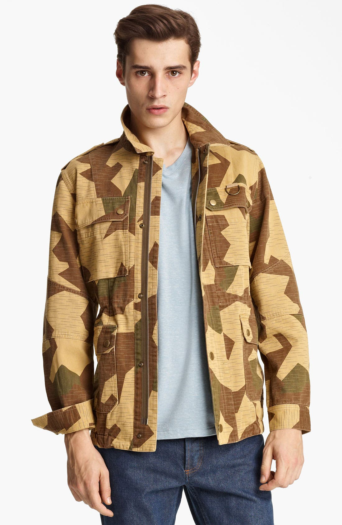 Alternate Image 1 Selected - A.P.C. Camo Coat