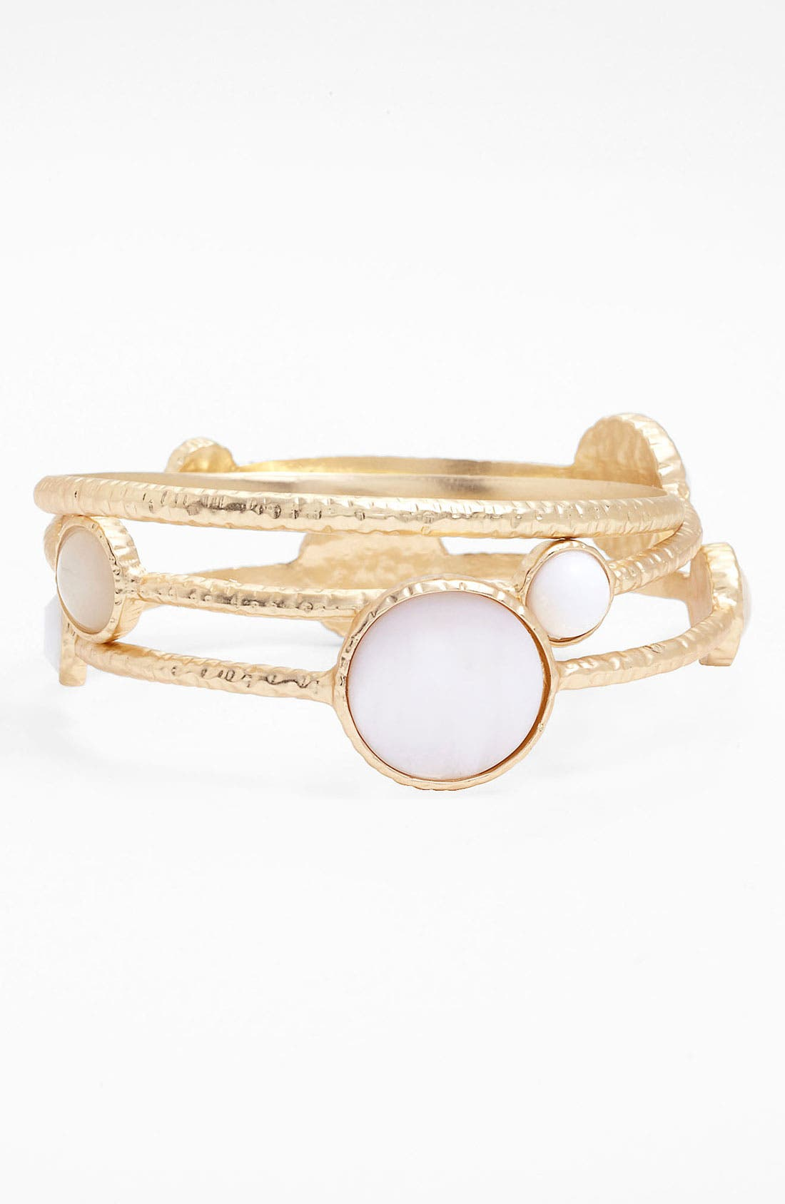Main Image - Nordstrom 'Santorini' Station Bangles (Set of 3)