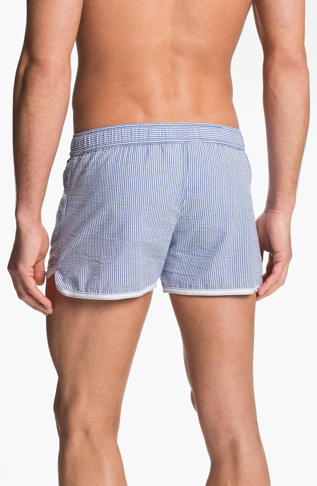 Alternate Image 2  - Andrew Christian 'West Hampton' Swim Shorts
