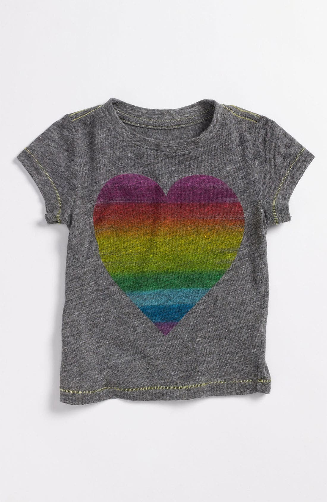 Alternate Image 1 Selected - Peek 'Rainbow Heart' Tee (Infant)