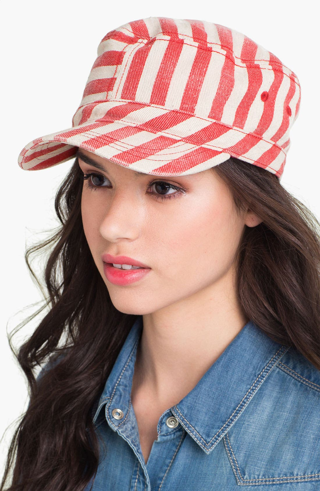 Alternate Image 1 Selected - Grace Hats Stripe Hat