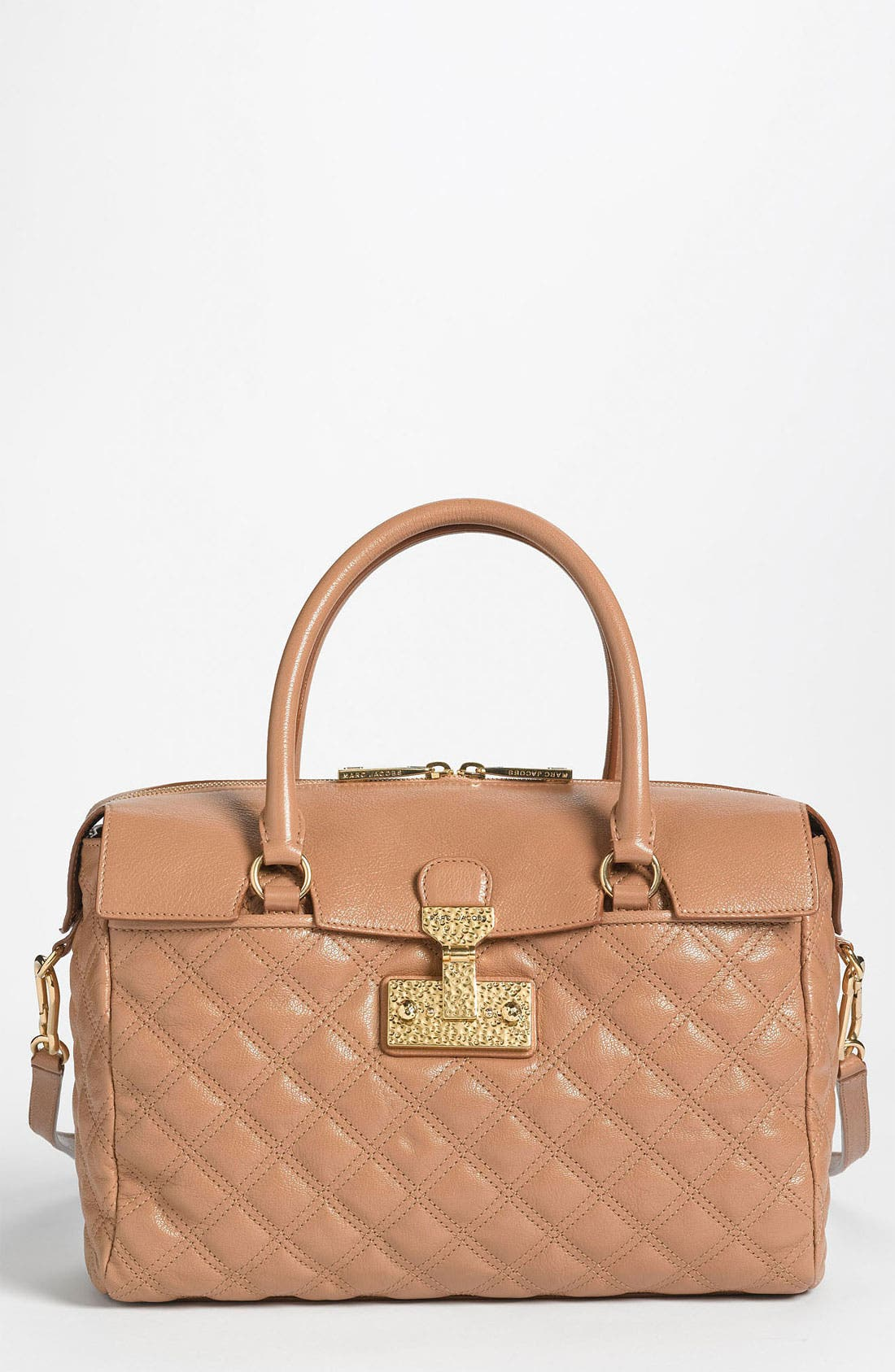 Main Image - MARC JACOBS 'Baroque - Rudi' Leather Satchel