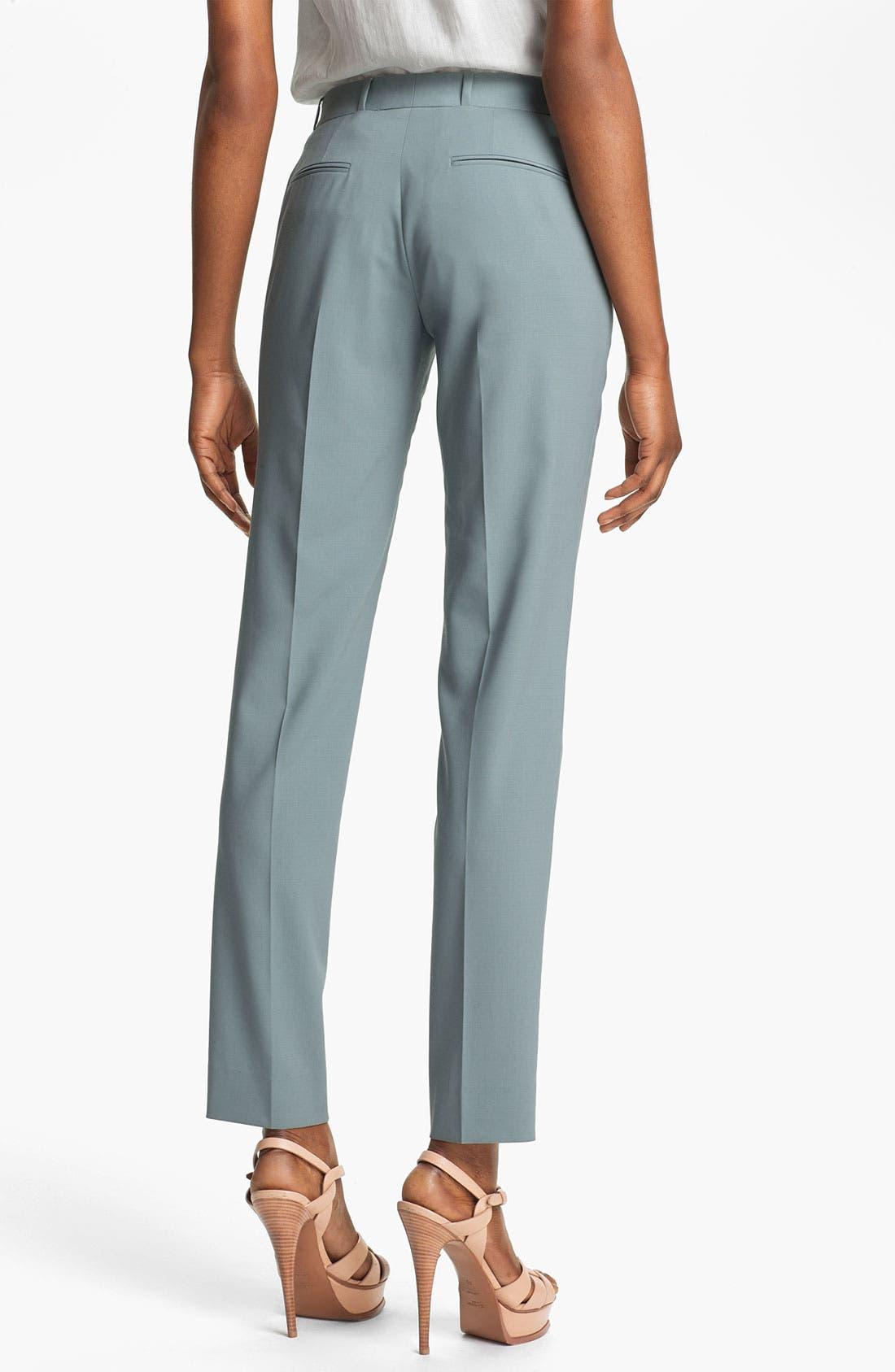 Alternate Image 2  - Theyskens' Theory 'Peete Fruma' Stretch Wool Pants