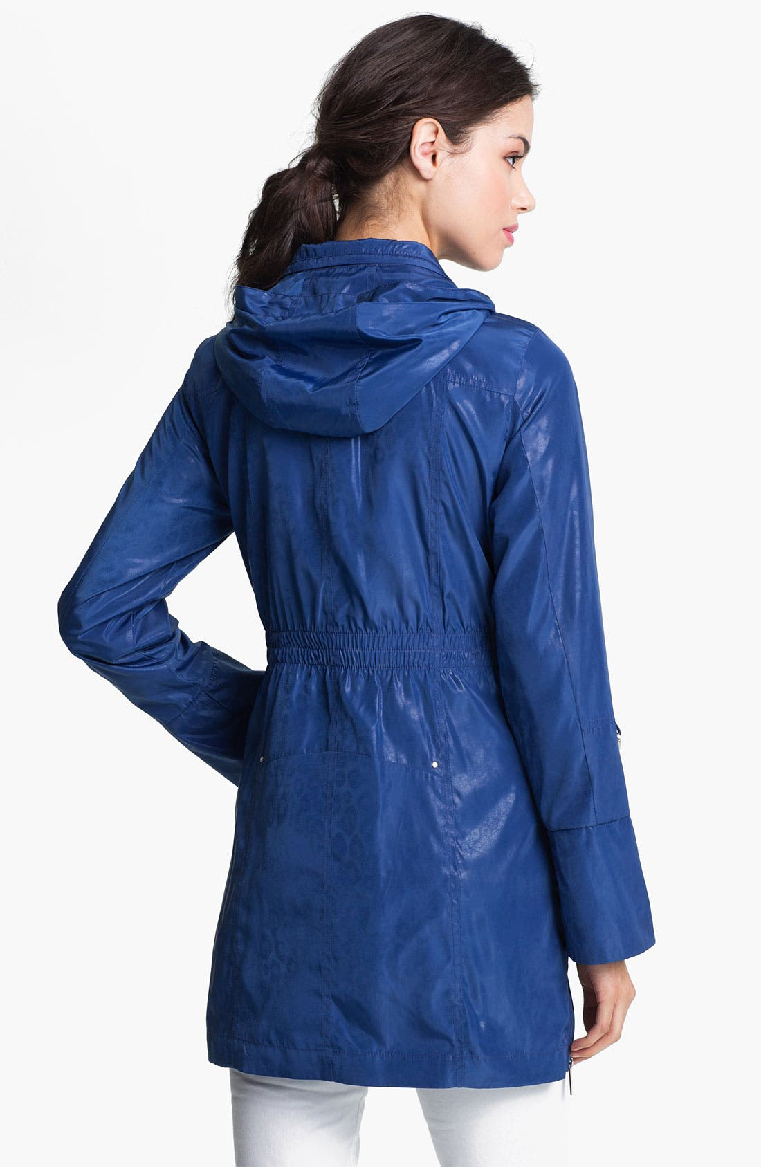 Alternate Image 3  - Via Spiga Safari Pocket Anorak with Detachable Hood (Online Only)