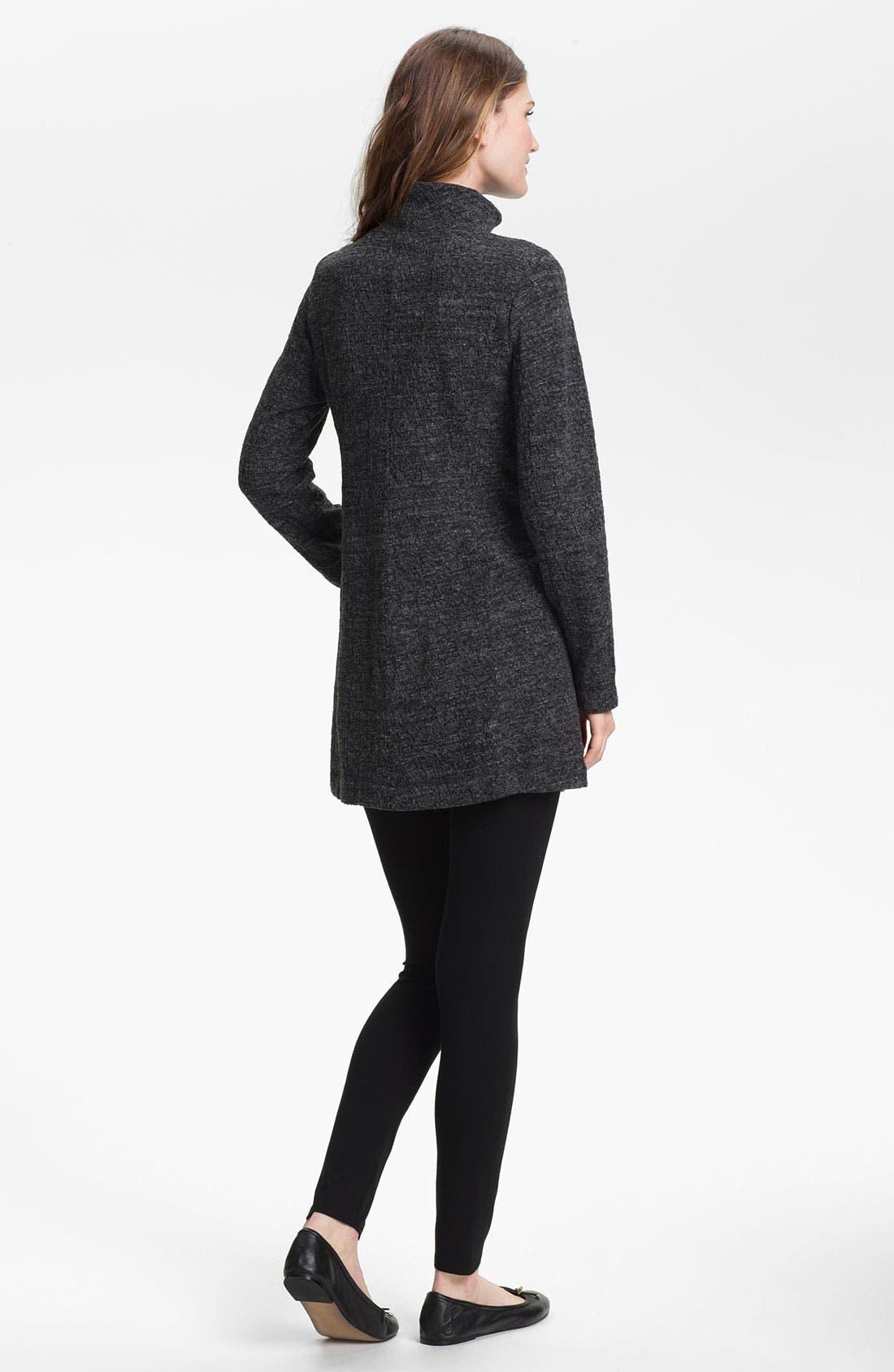Alternate Image 5  - Eileen Fisher Funnel Neck Zip Jacket (Online Exclusive)