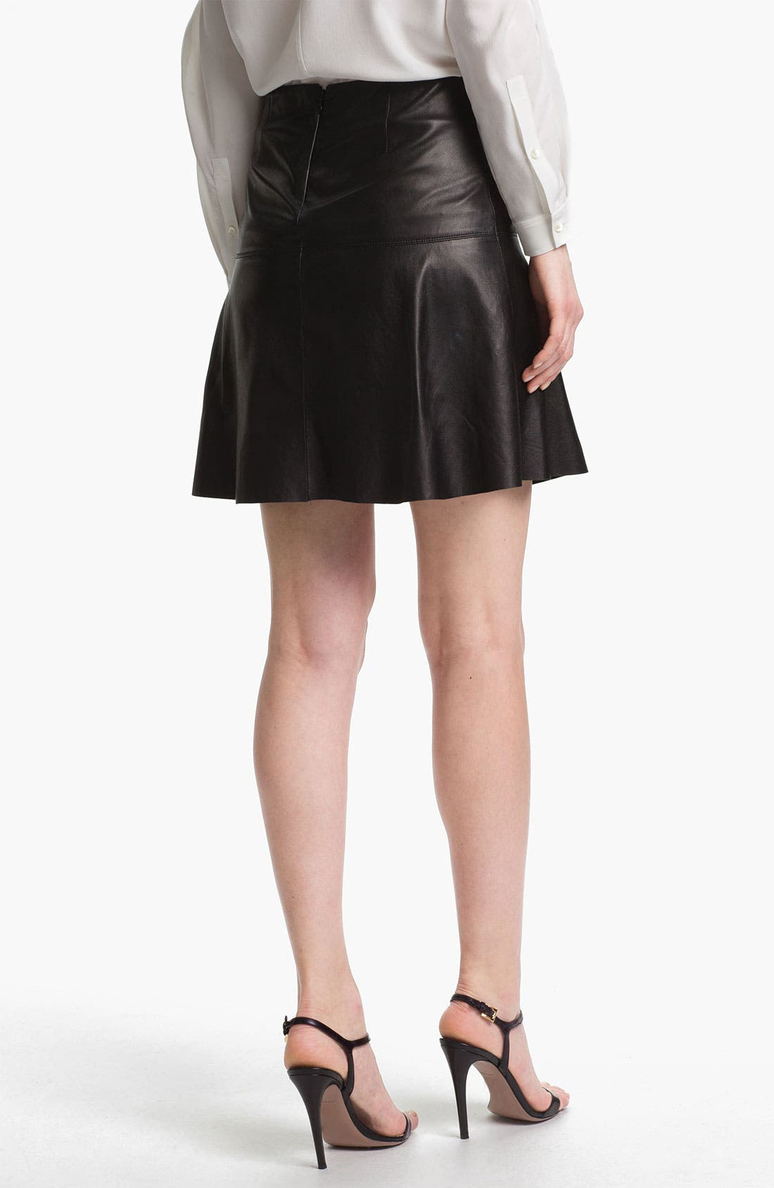 Alternate Image 2  - Vince Leather Skirt