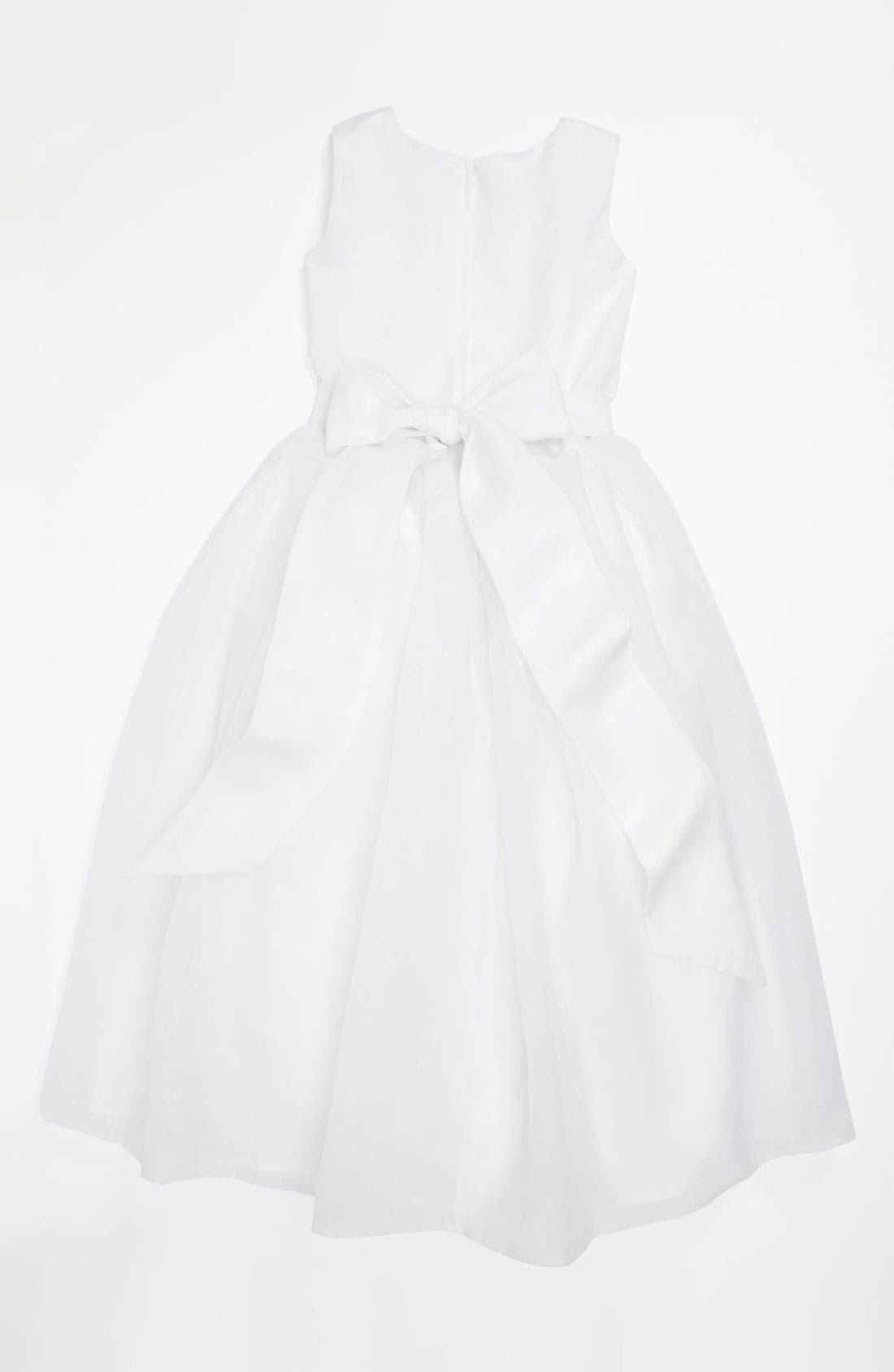 Alternate Image 2  - Joan Calabrese for Mon Cheri Sleeveless Dress (Little Girls & Big Girls)