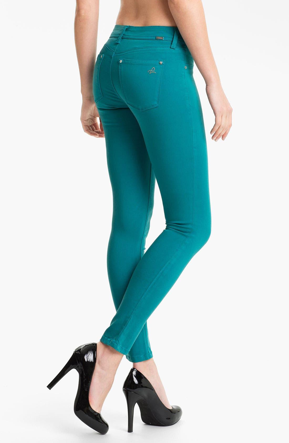 Alternate Image 2  - DL1961 'Emma' X-Fit Stretch Skinny Jeans (Aruba)