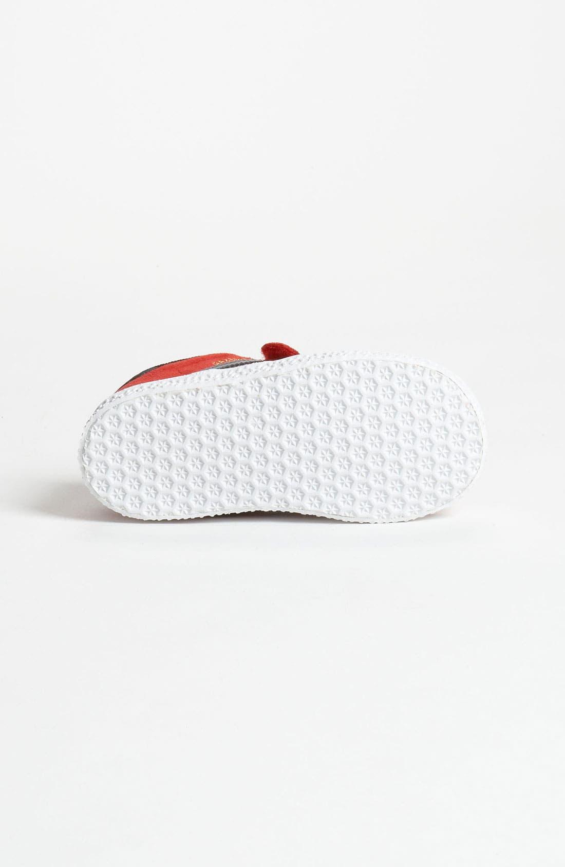 Alternate Image 4  - adidas 'Gazelle' Sneaker (Baby, Walker & Toddler)