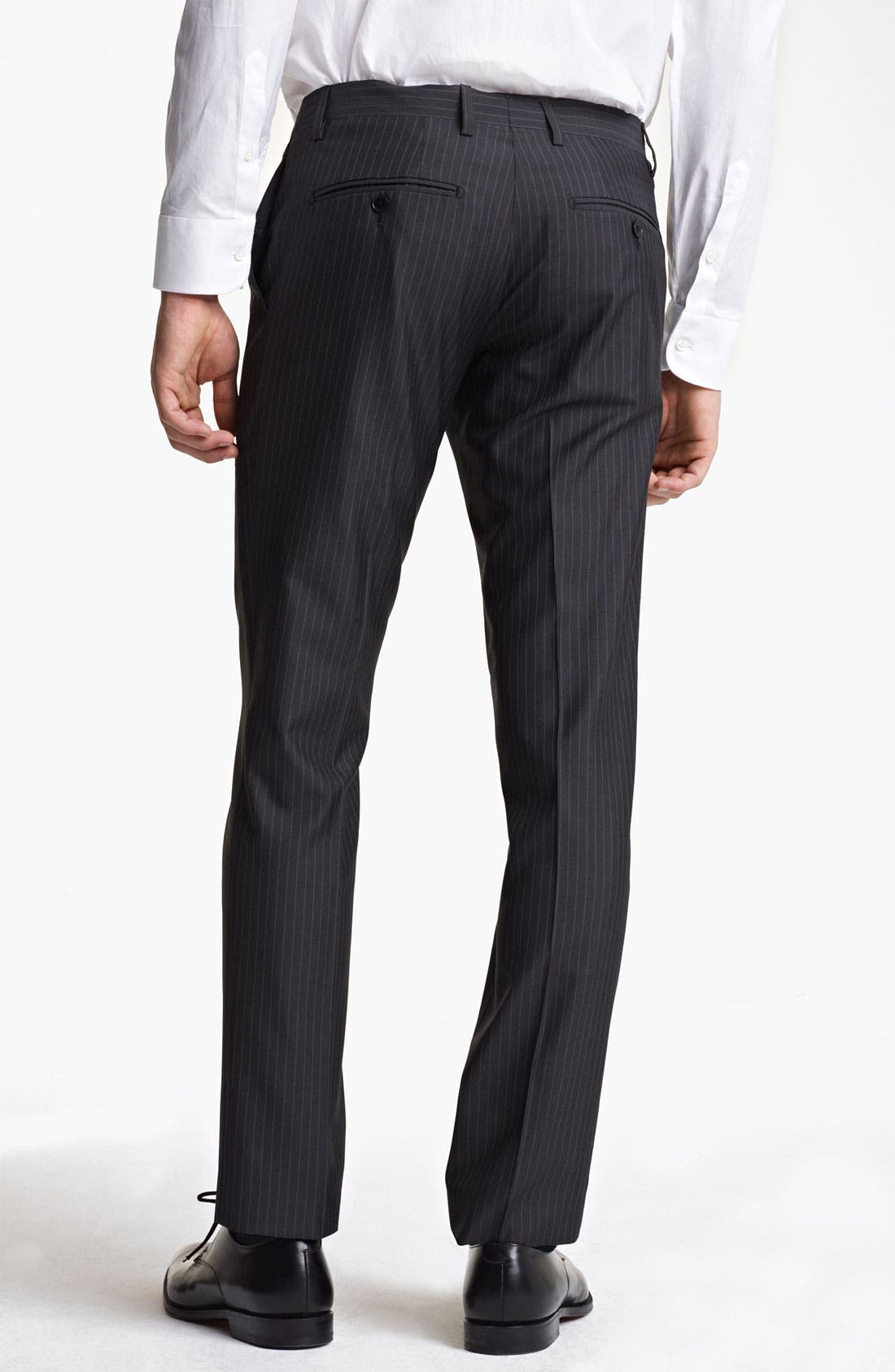 Alternate Image 6  - Dolce&Gabbana Pinstripe Wool & Silk Suit