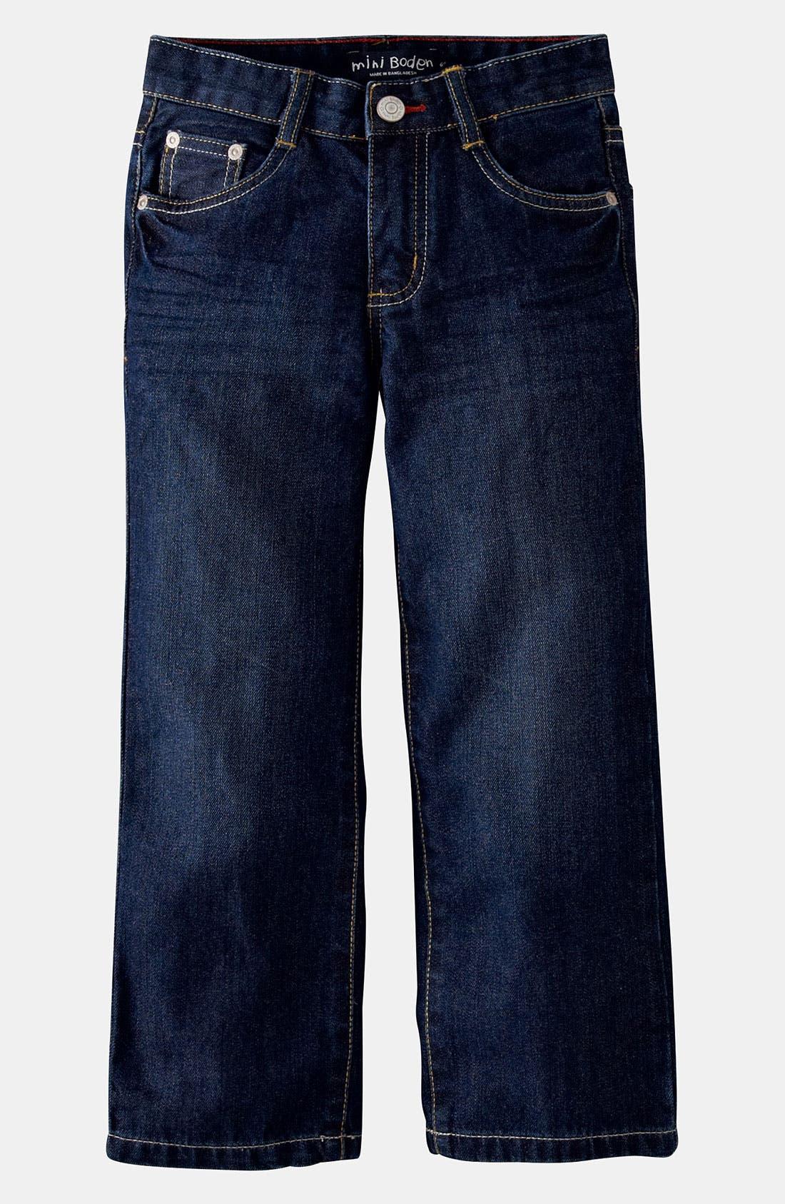 Main Image - Mini Boden Regular Fit Jeans (Toddler)