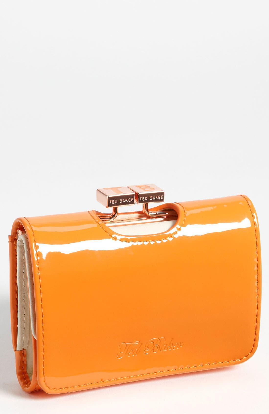 Main Image - Ted Baker London 'Small' Patent Leather Wallet