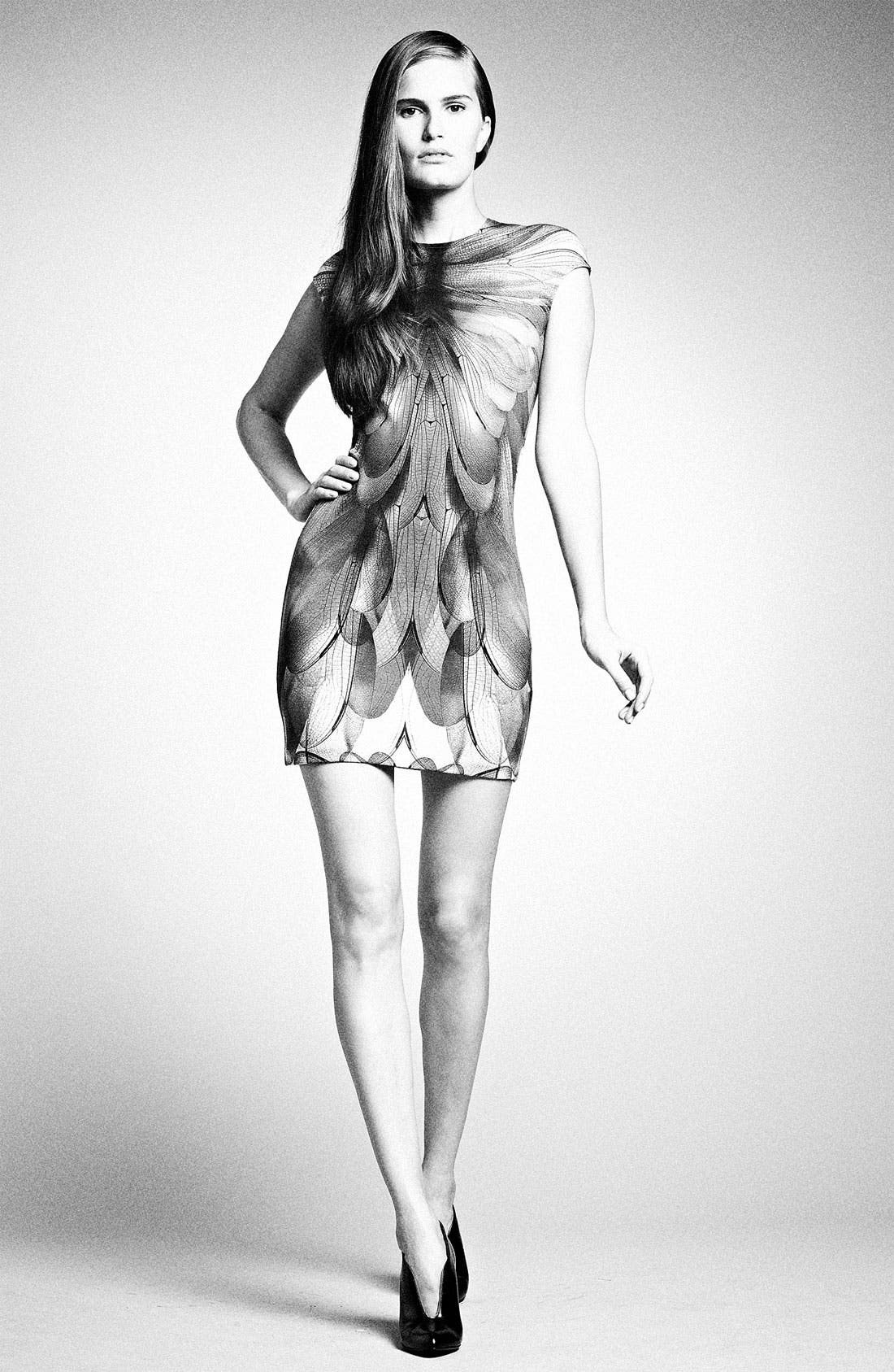 Alternate Image 5  - McQ by Alexander McQueen Cap Sleeve Dress