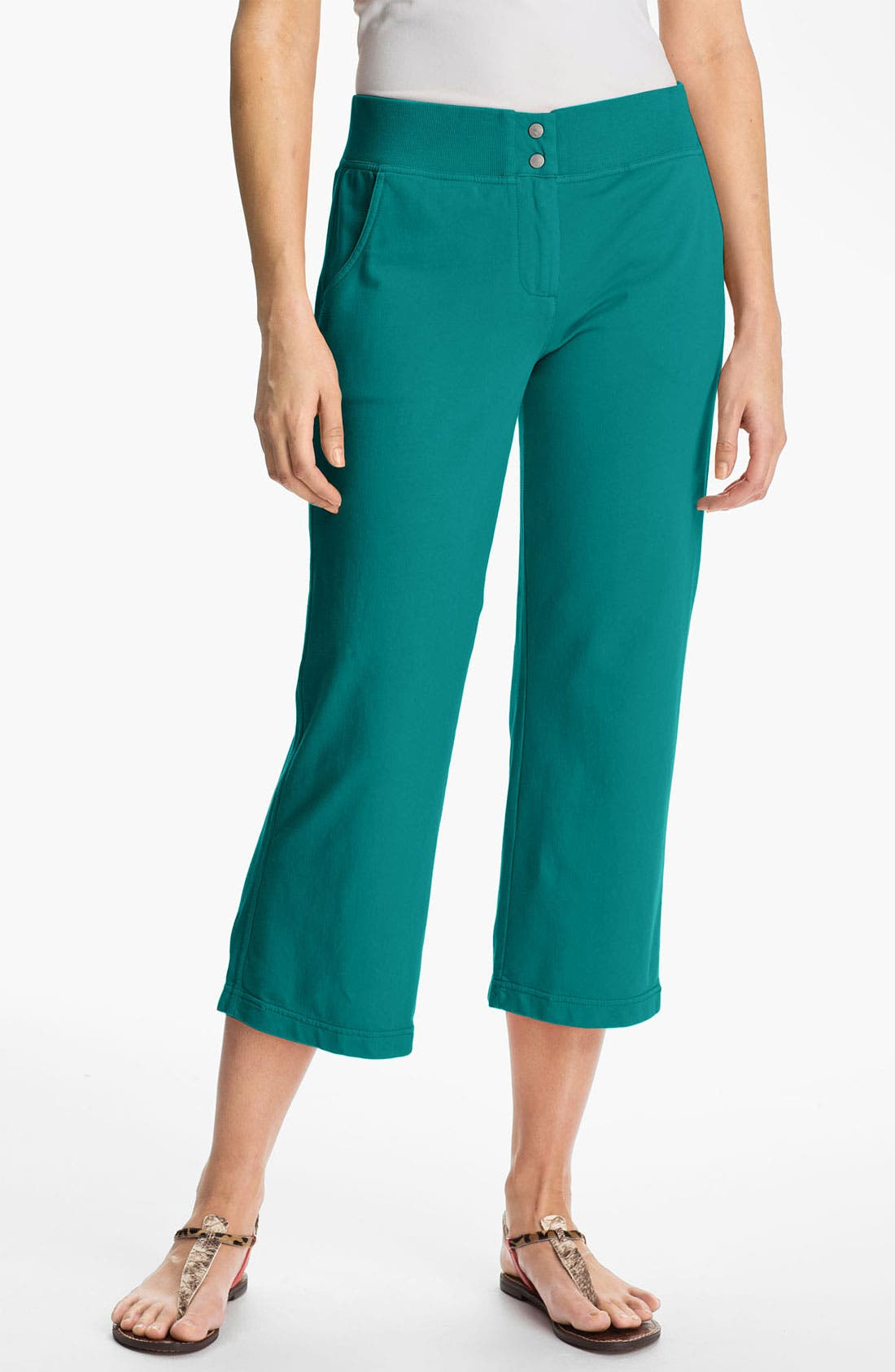 Alternate Image 1 Selected - Tommy Bahama Terry Crop Pants