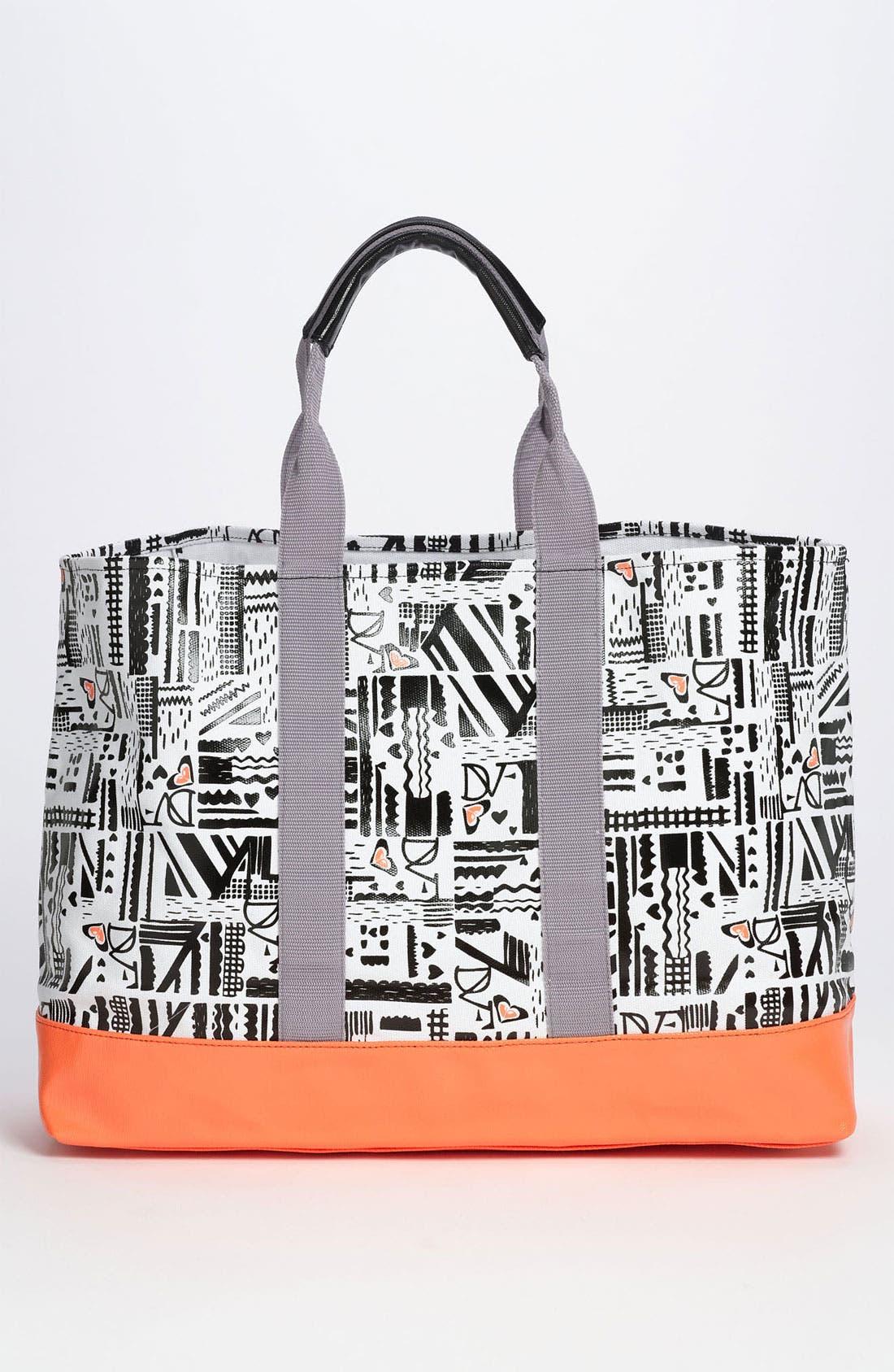 Alternate Image 4  - 'DVF Loves Roxy' Tote Bag