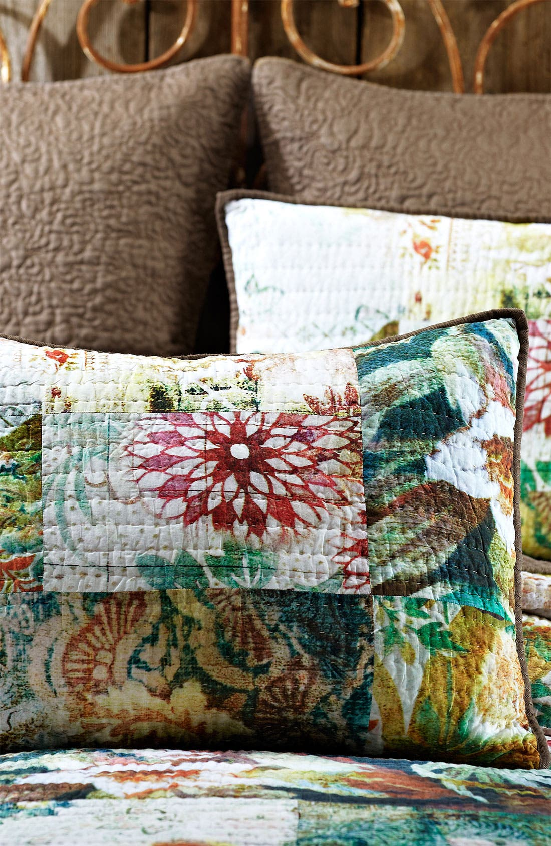 Alternate Image 2  - Tracy Porter® For Poetic Wanderlust® 'Michaila' Patchwork Pillow Sham