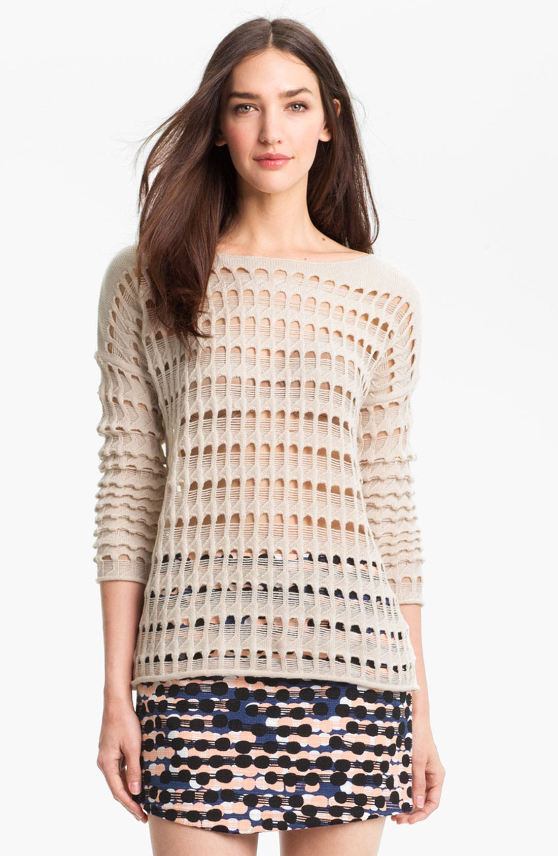 Alternate Image 1 Selected - Diane von Furstenberg 'Rhodes' Sweater