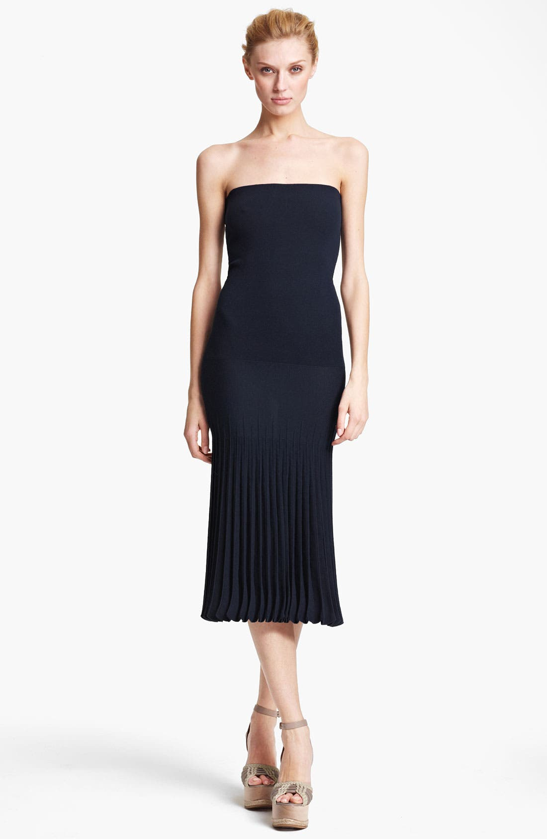 Main Image - Donna Karan Collection 'Infinity' Strapless Stretch Knit Dress