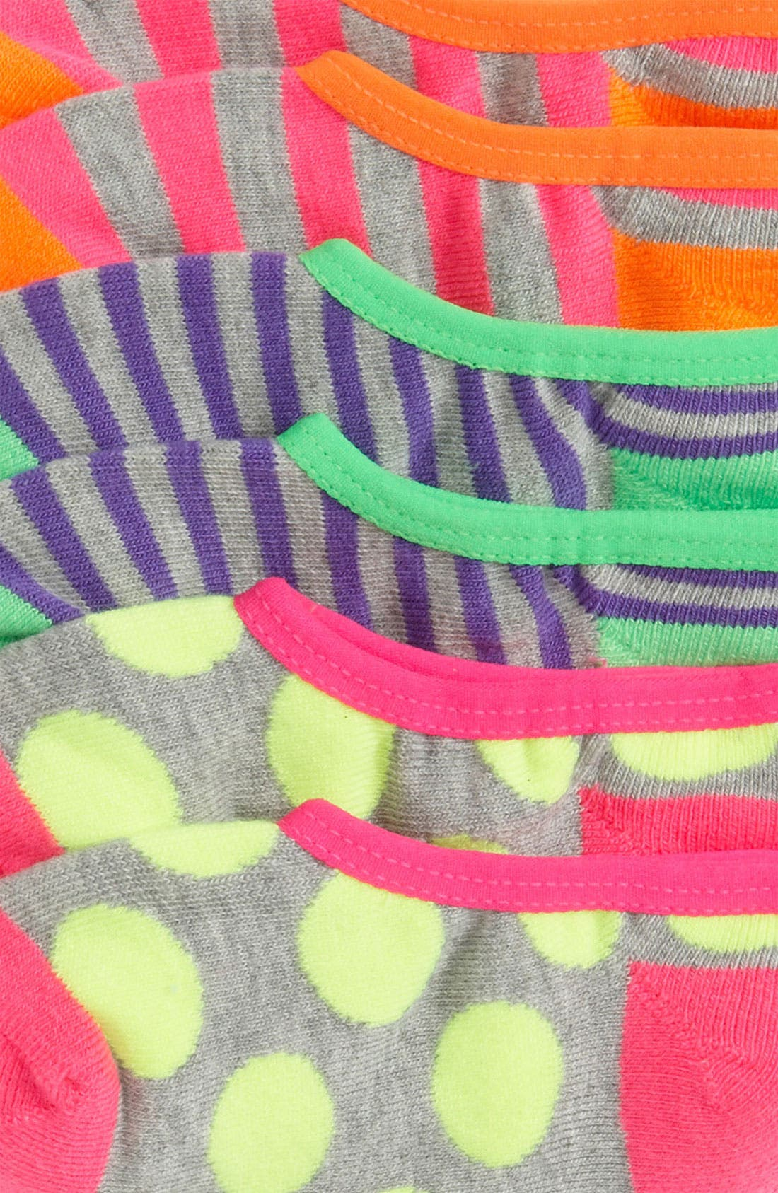 Alternate Image 2  - Nordstrom Liner Socks (3-Pack) (Little Kids)