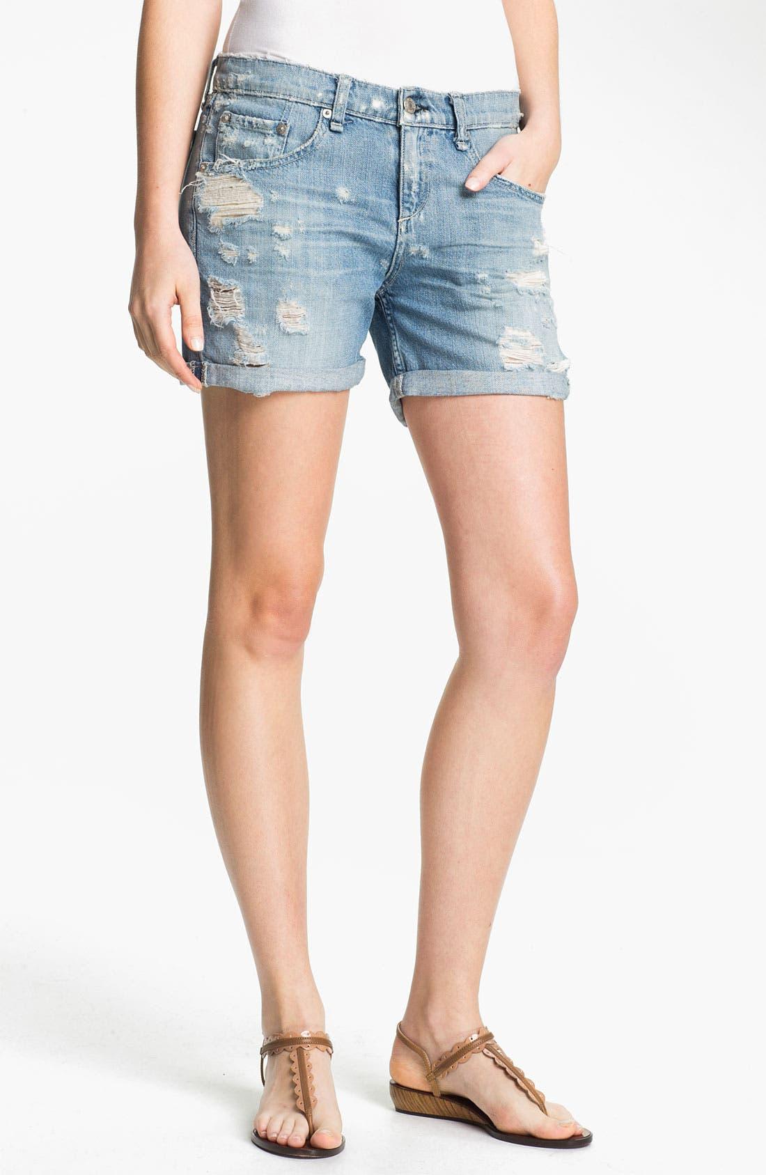 Alternate Image 1 Selected - rag & bone/JEAN 'The Boyfriend' Shorts