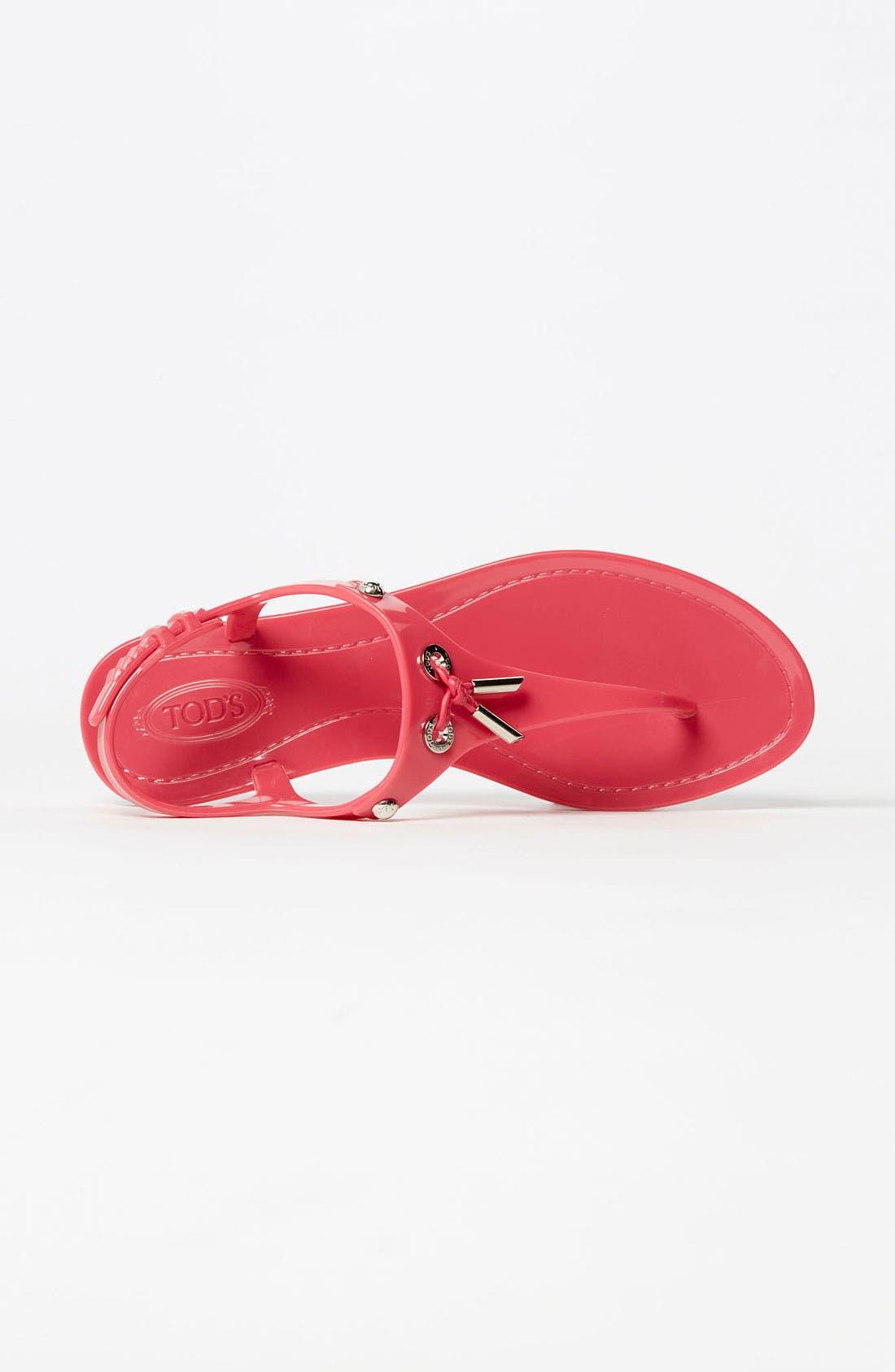 Alternate Image 3  - Tod's Jelly Thong Sandal