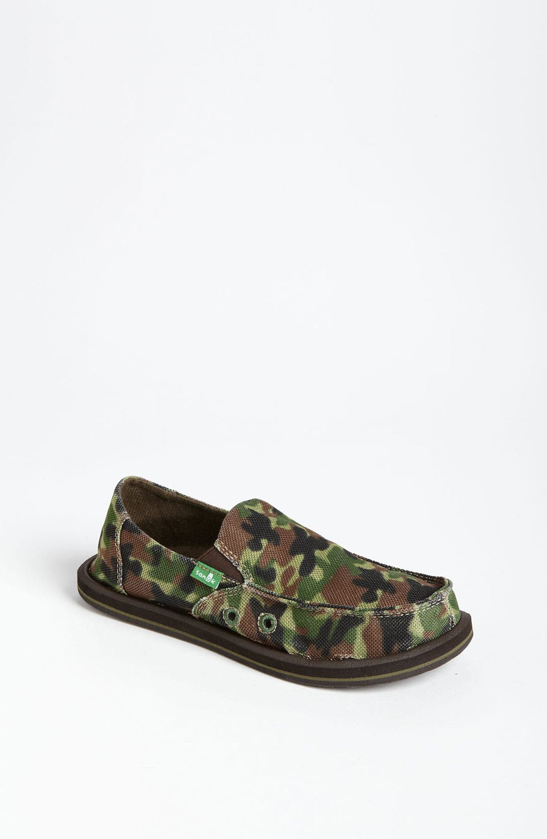 Alternate Image 1 Selected - Sanuk 'Army Brat' Slip-On (Toddler, Little Kid & Big Kid)