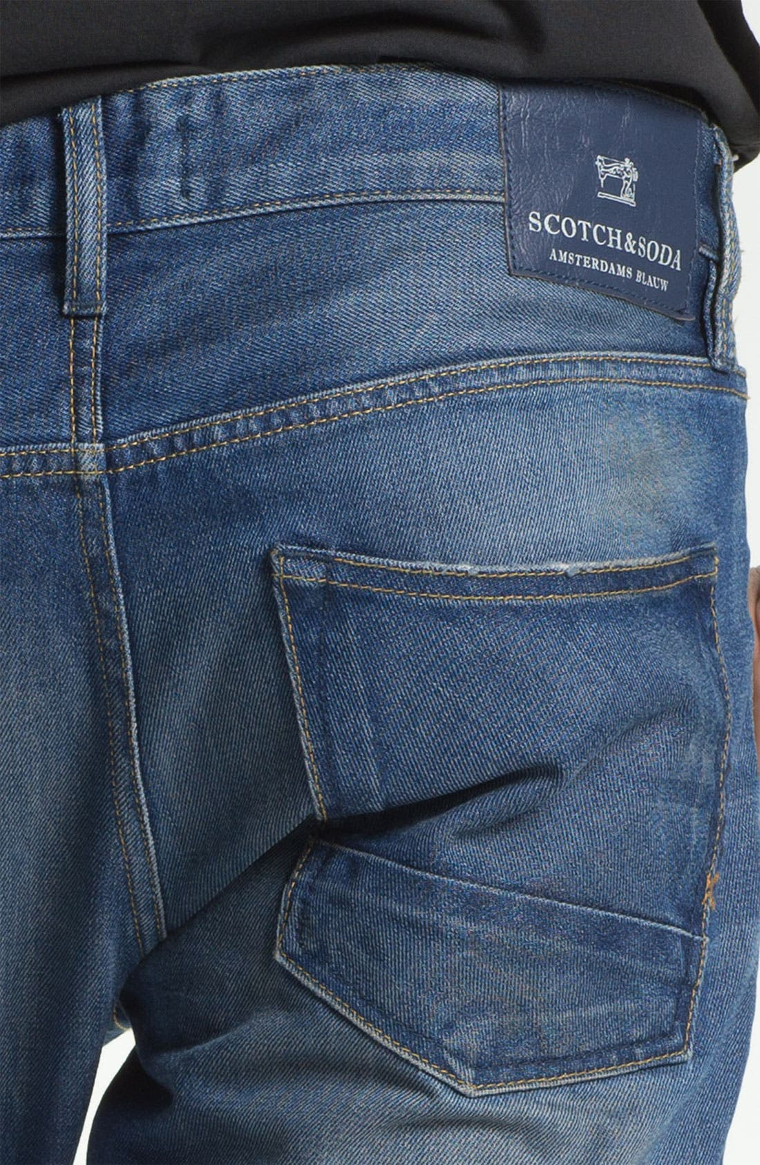 Alternate Image 4  - Scotch & Soda 'Ralston' Slim Straight Leg Jeans (Trump Town)