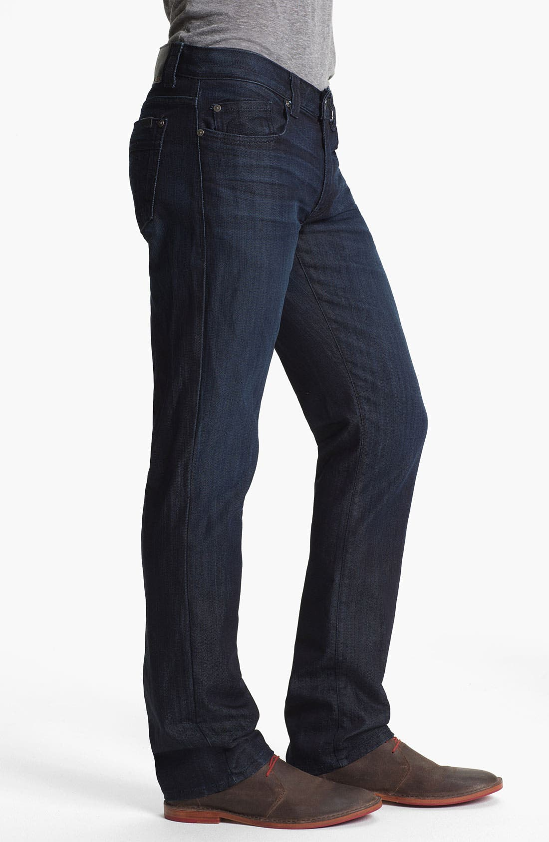 Alternate Image 3  - Fidelity Denim 'Impala' Straight Leg Jeans (Varsity Dark)
