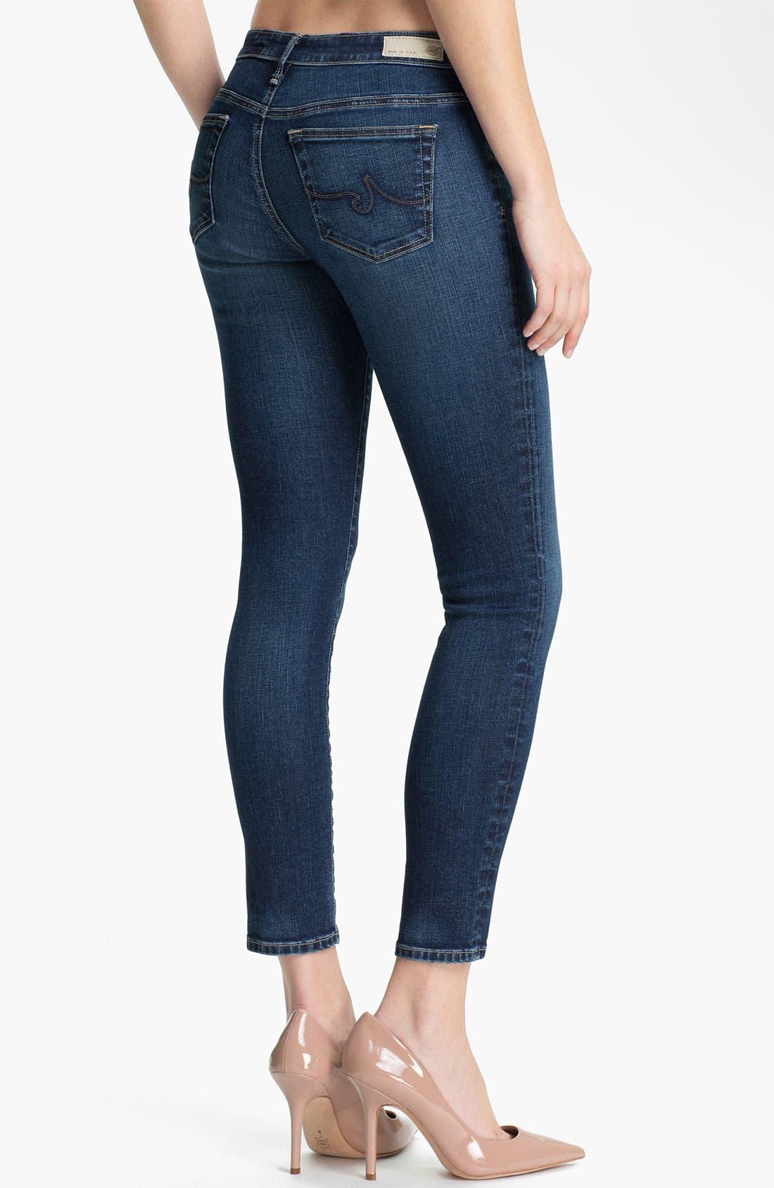 Alternate Image 2  - AG 'The Legging' Ankle Jeans (Rio)