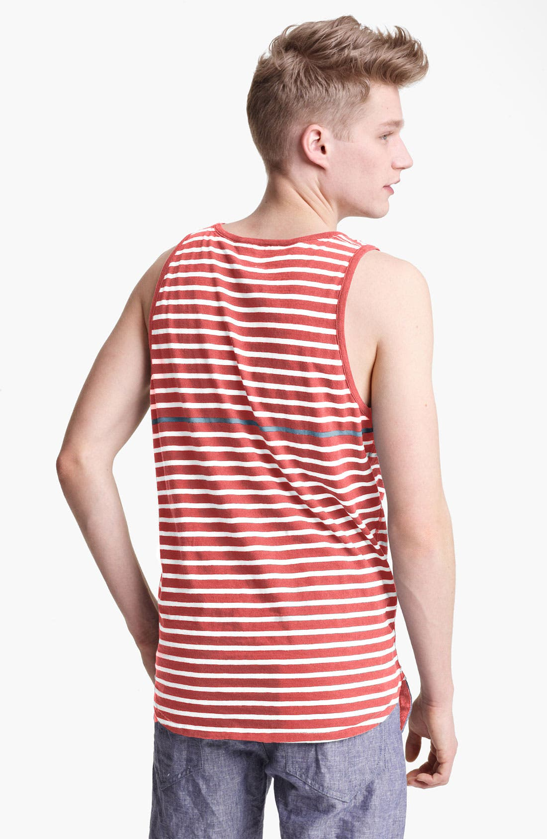Alternate Image 2  - rag & bone 'Perfect Stripe' Tank Top