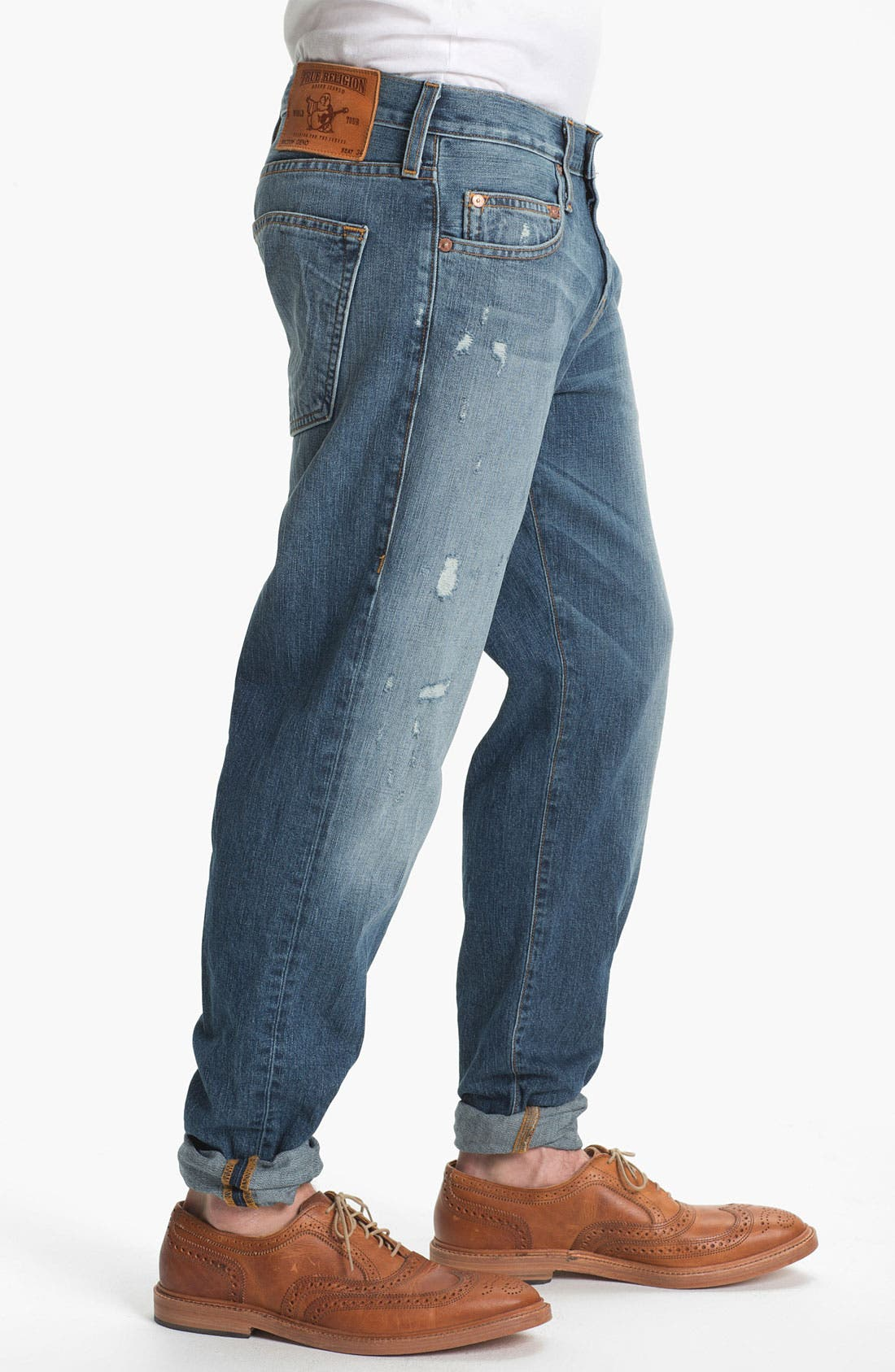Alternate Image 3  - True Religion Brand Jeans 'Geno 1971' Slim Straight Leg Jeans (Sepulvada)