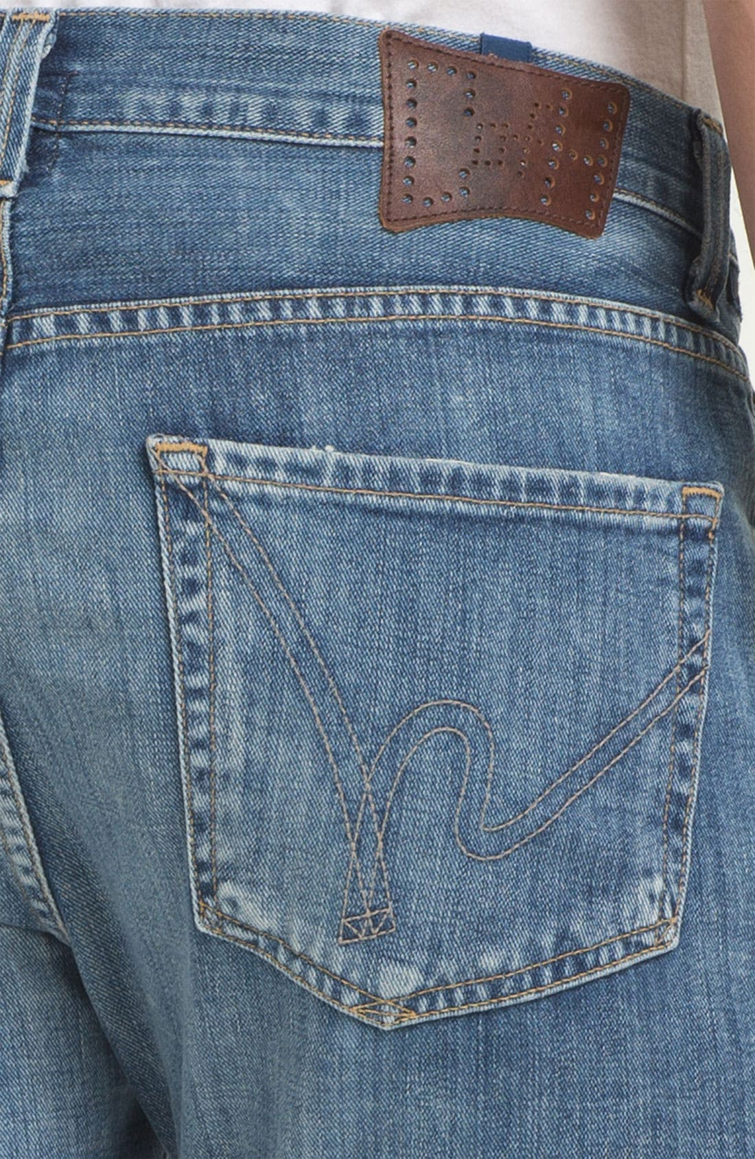 Alternate Image 4  - Citizens of Humanity 'Sid' Straight Leg Jeans (Nelson)
