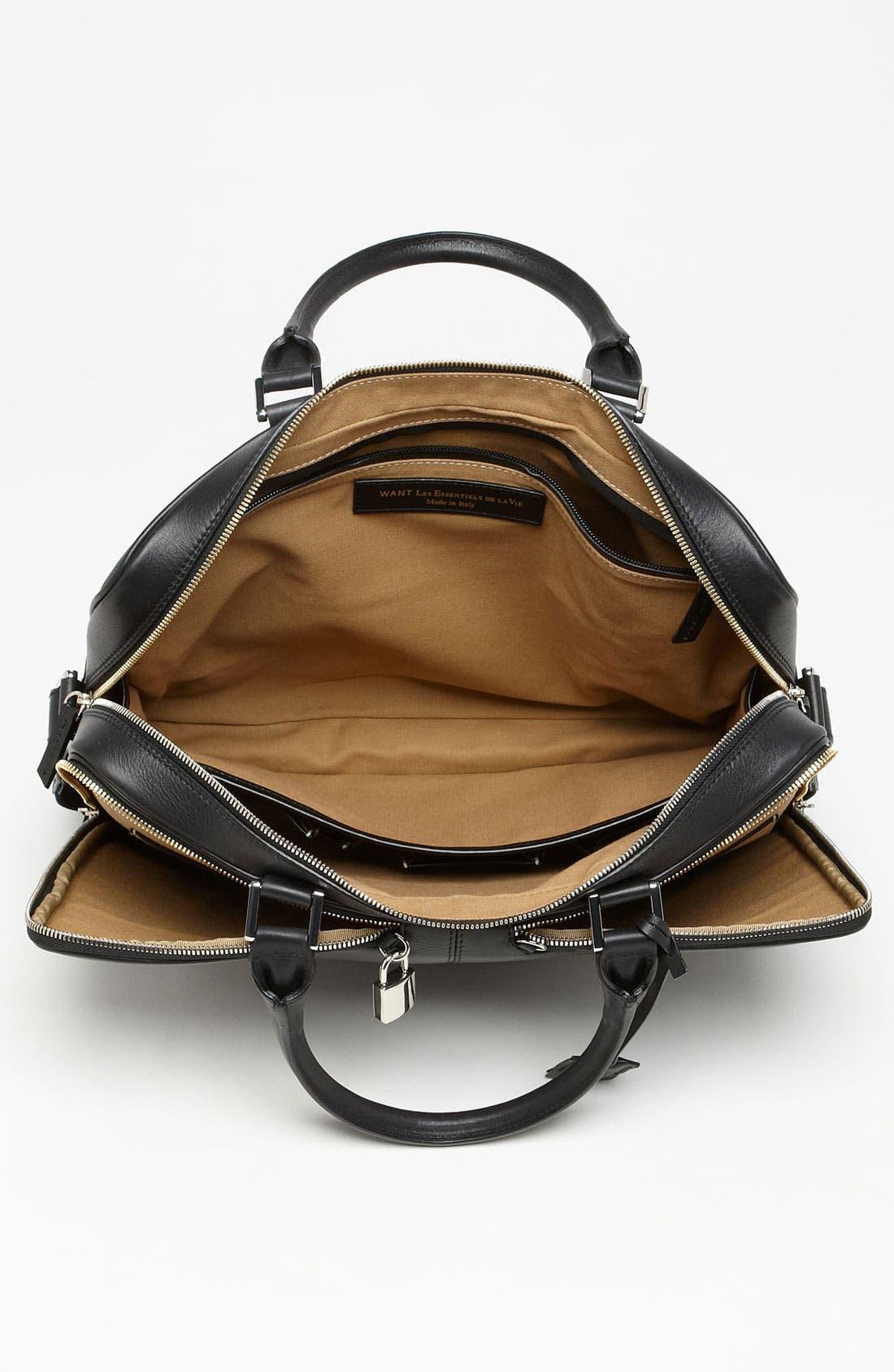 Alternate Image 3  - WANT Les Essentiels de la Vie 'Trudeay' Leather Briefcase