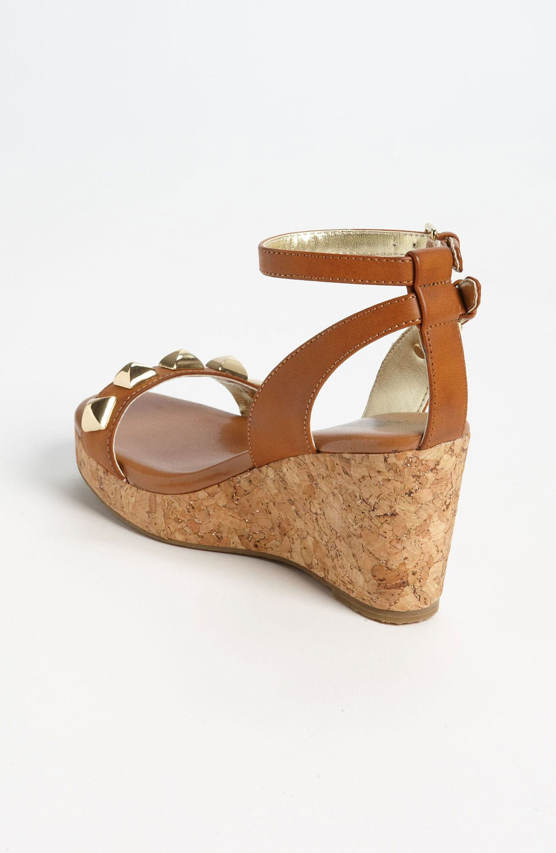 Alternate Image 2  - MICHAEL Michael Kors 'Jalita' Wedge Sandal (Little Kid & Big Kid)