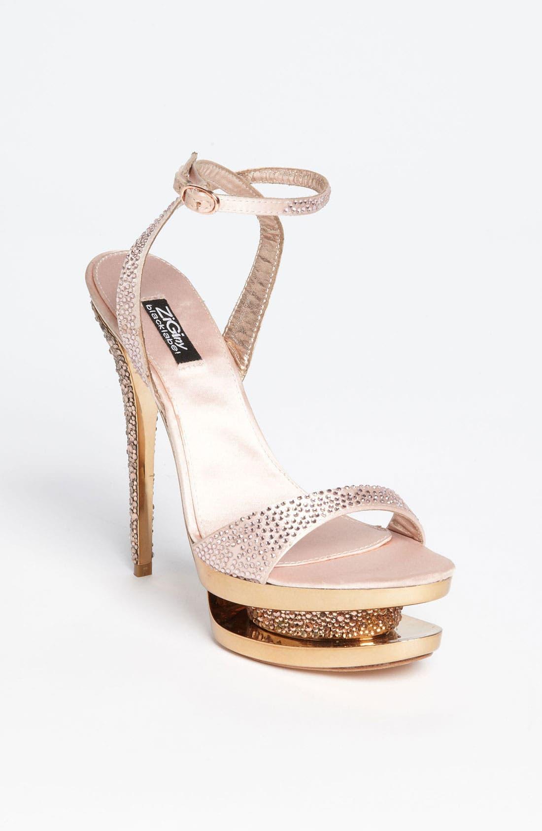 Main Image - ZiGiNY Black Label 'Sparkler' Sandal