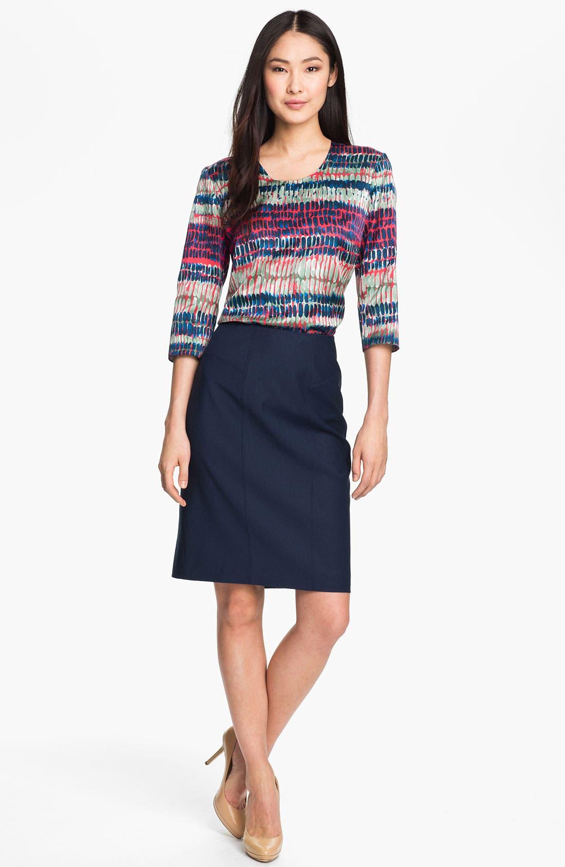 Alternate Image 4  - BOSS Black 'Vilonie' Skirt