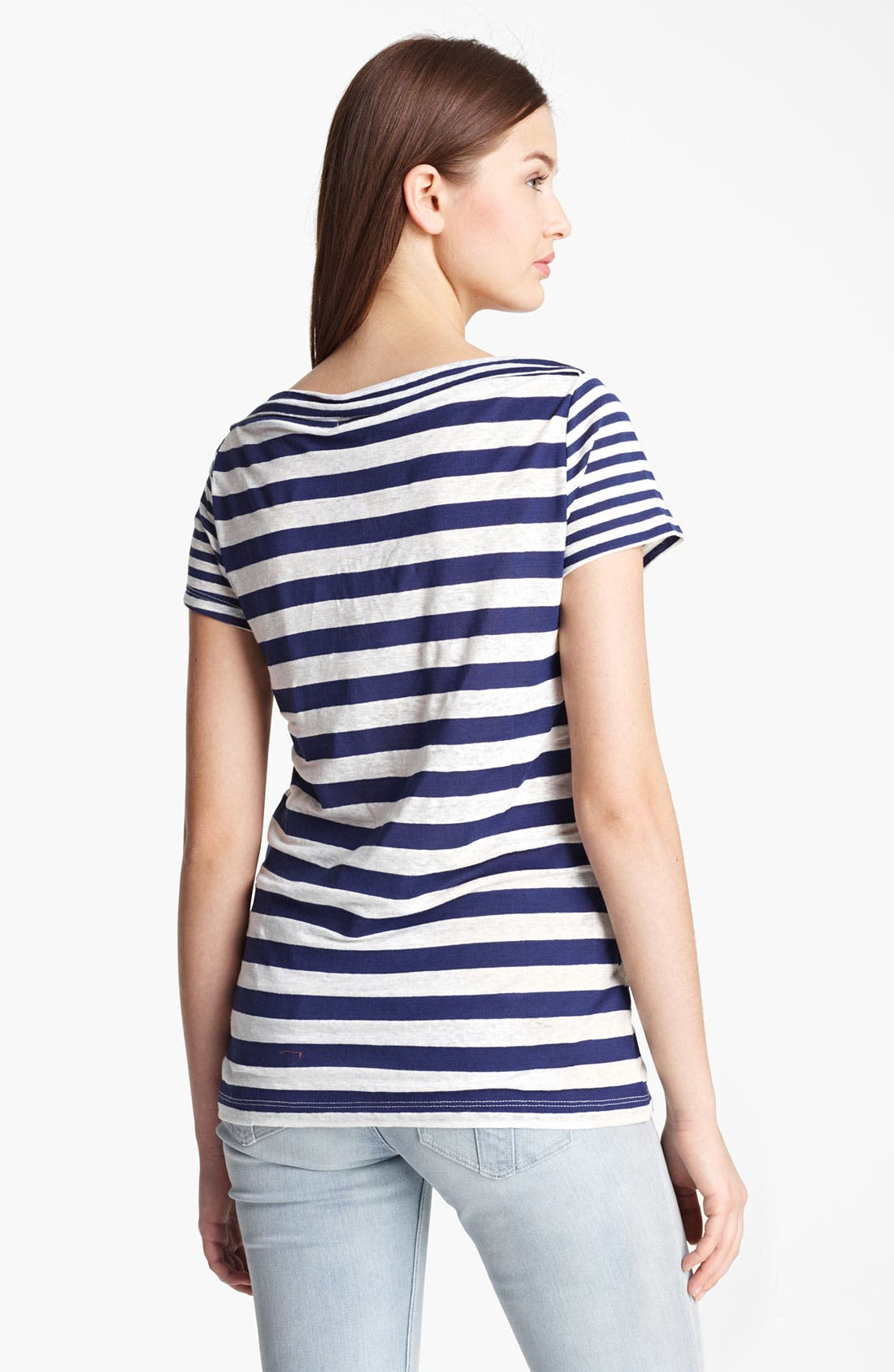 Alternate Image 2  - Burberry Brit Stripe Short Sleeve Tee (Online Only)