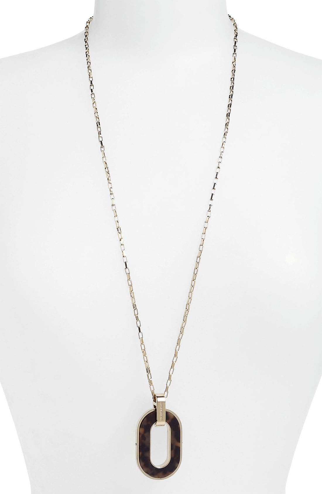 Alternate Image 2  - Michael Kors 'Jet Set' Long Pendant Necklace