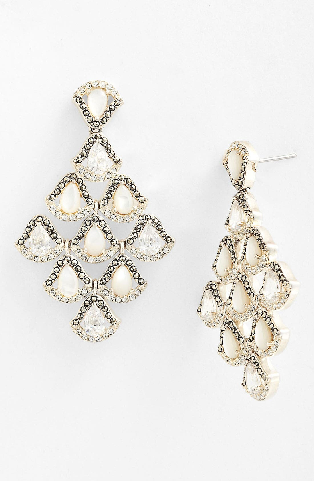 Alternate Image 1 Selected - Judith Jack 'Amore' Chandelier Earrings
