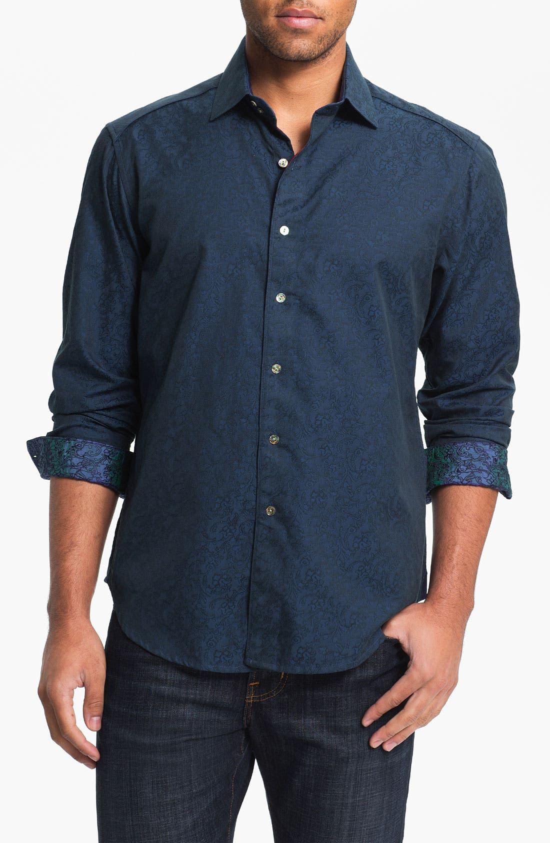 Alternate Image 1 Selected - Robert Graham 'Back Flip' Sport Shirt