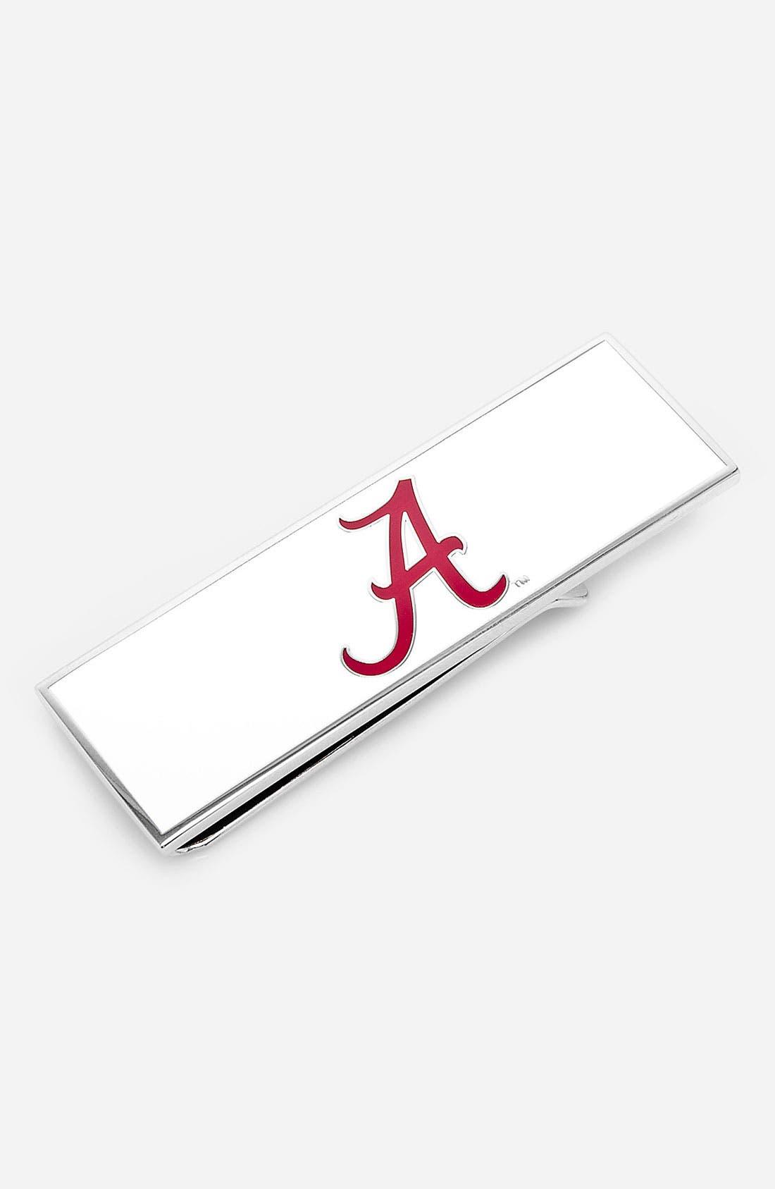 Main Image - Cufflinks, Inc. 'Alabama Crimson Tide' Money Clip