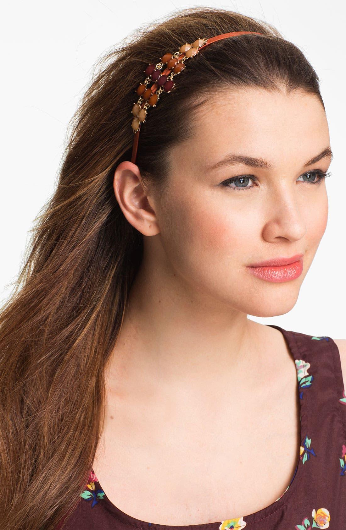 Alternate Image 1 Selected - Tasha Ombré Crystal Headband