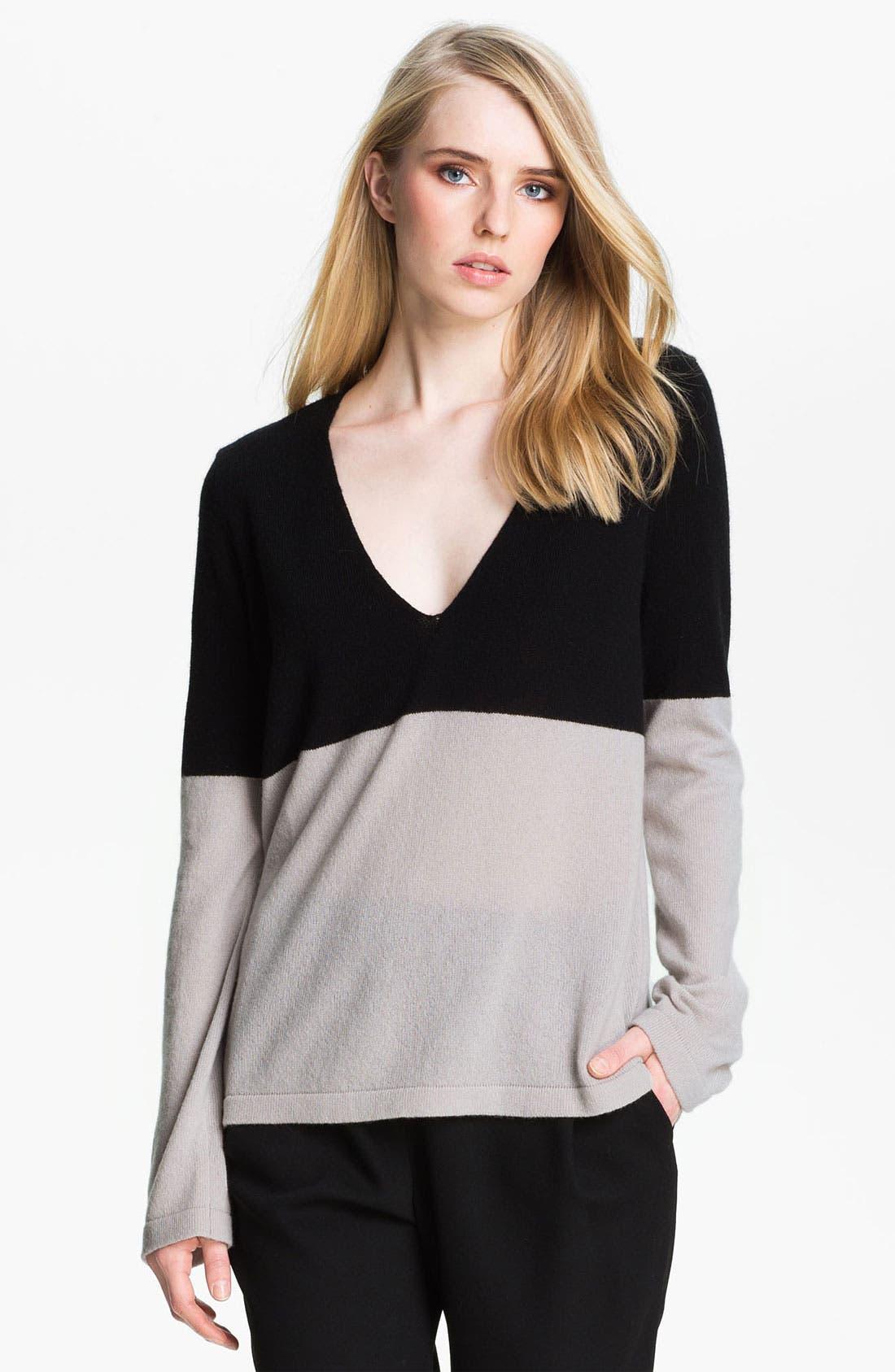 Alternate Image 2  - Halston Heritage Two Tone Sweater