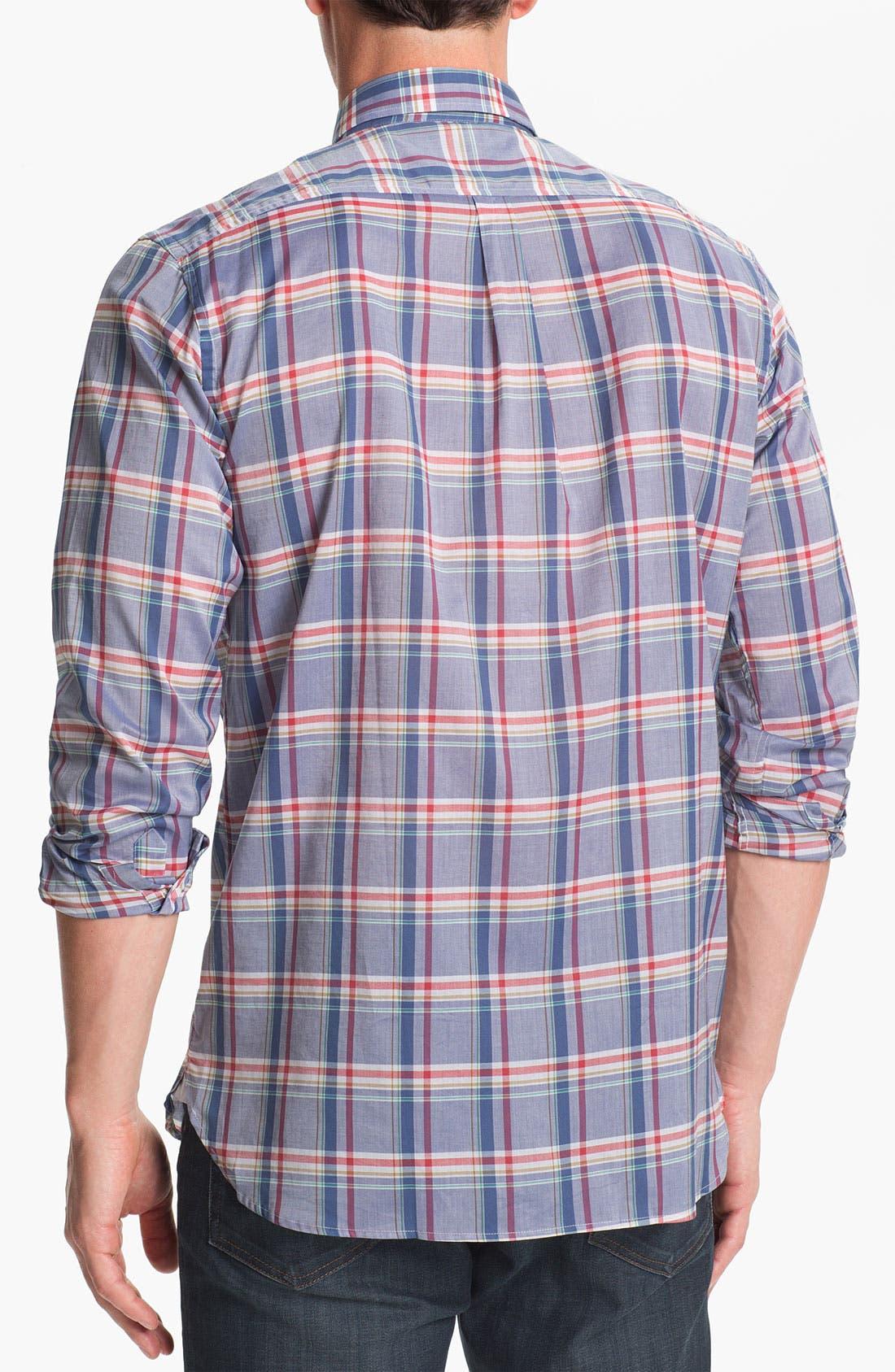 Alternate Image 2  - Hickey Freeman Regular Fit Sport Shirt
